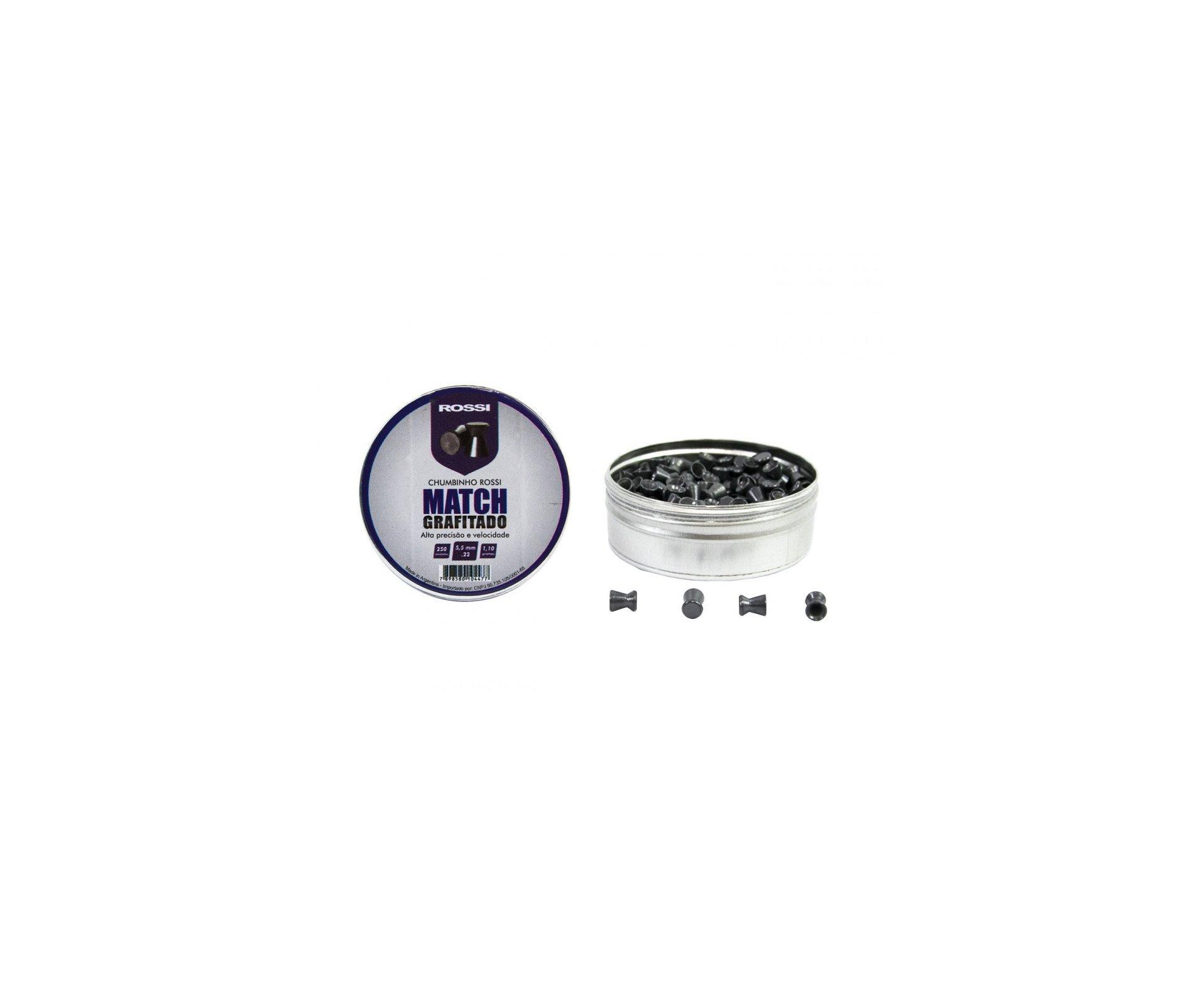 Carabina De Pressão Hatsan Ht 80 5,5mm Com Pistão Pneumático + Canivete + Kit Limpeza + Chumbinhos