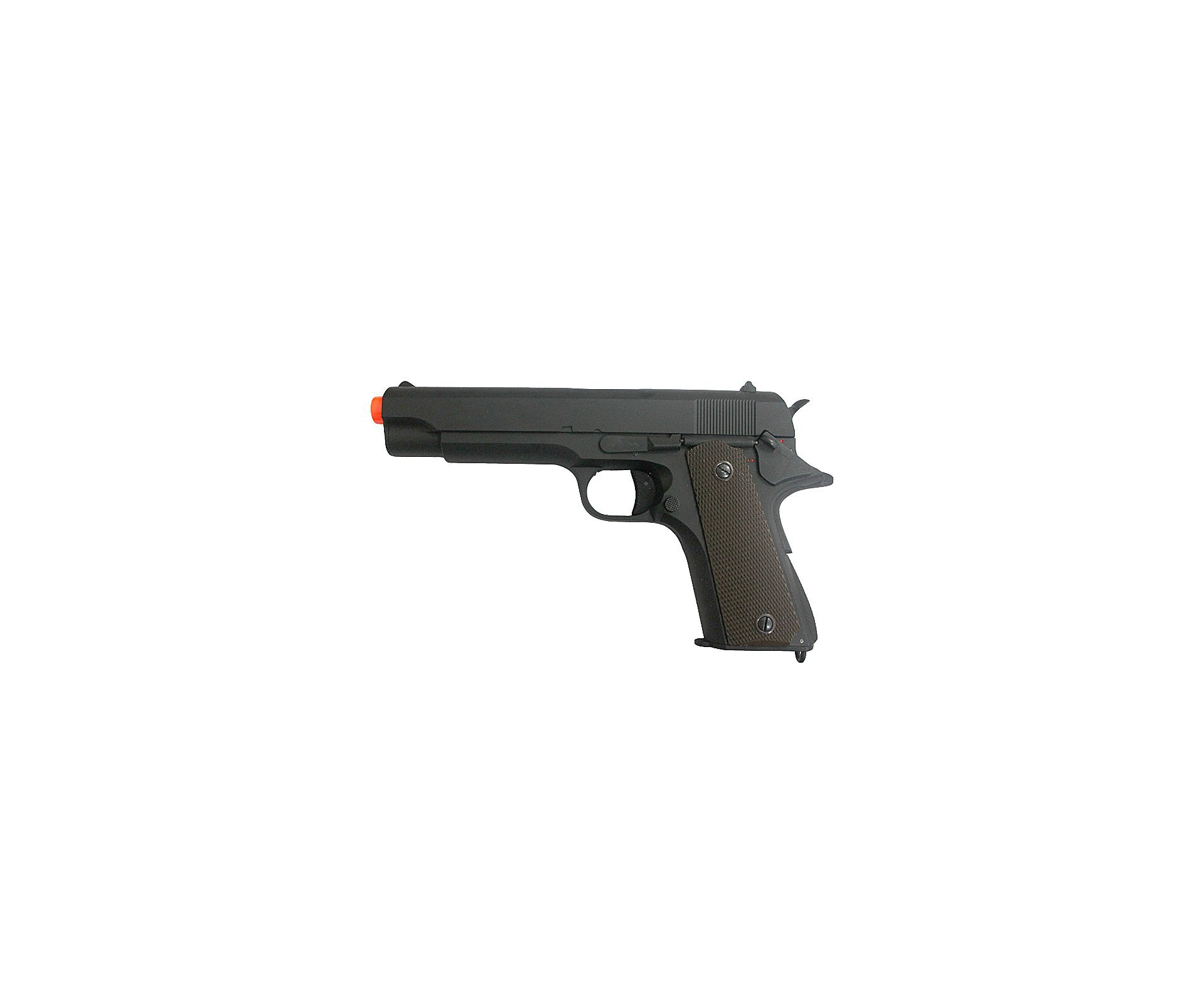 Pistola De Airsoft Eletrica 1911 Bivolt + Esferas 0,20g + Case Deluxe + Coldre - Cyma