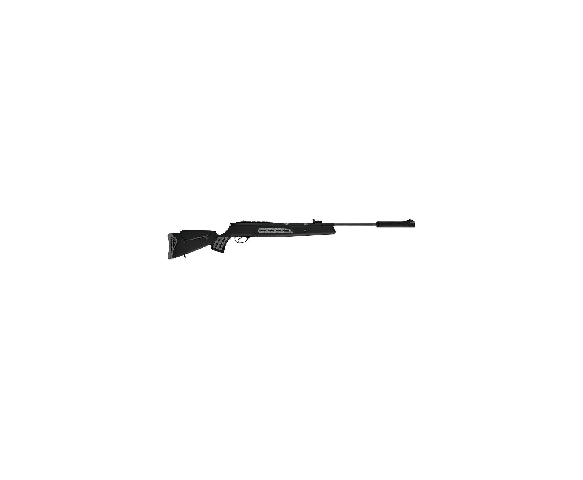 "Carabina De Pressão Hatsan Ht 125 Sniper - Cal 5,5 Mm - Sas + Capa 52"" + Chumbinhos"