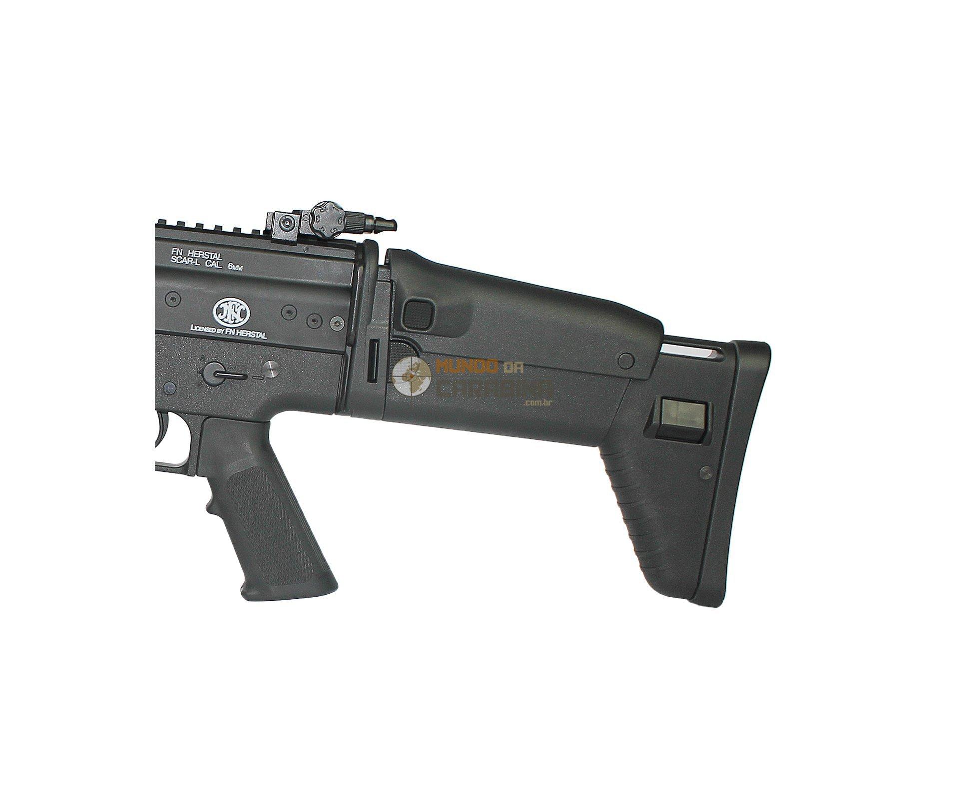 Rifle De Airsoft Fn Scar-l Tactical - Fn Herstal