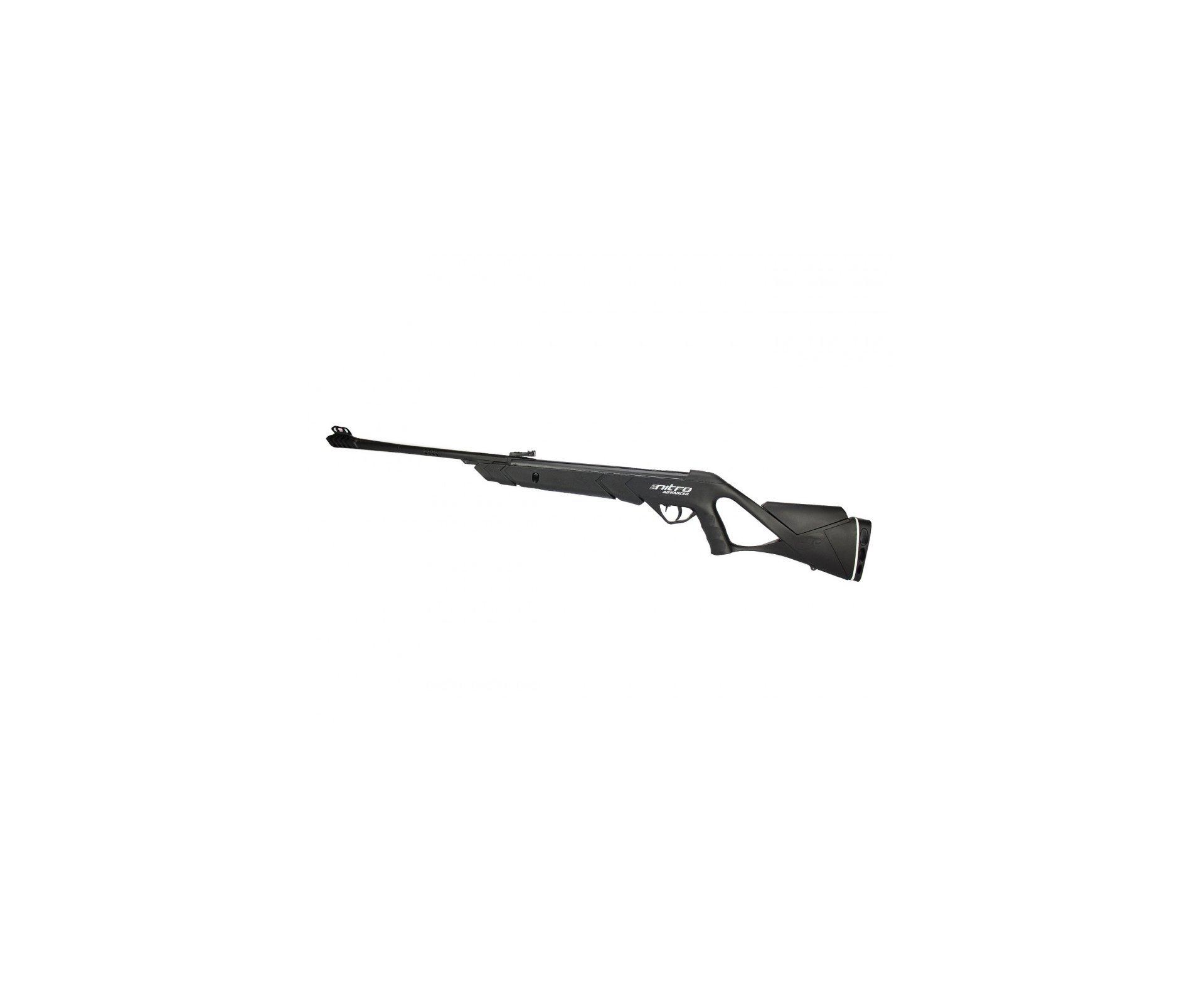 Carabina De Pressão Advanced Nitro F22 Cbc 5.5 + Case Plano + Chumbinhos