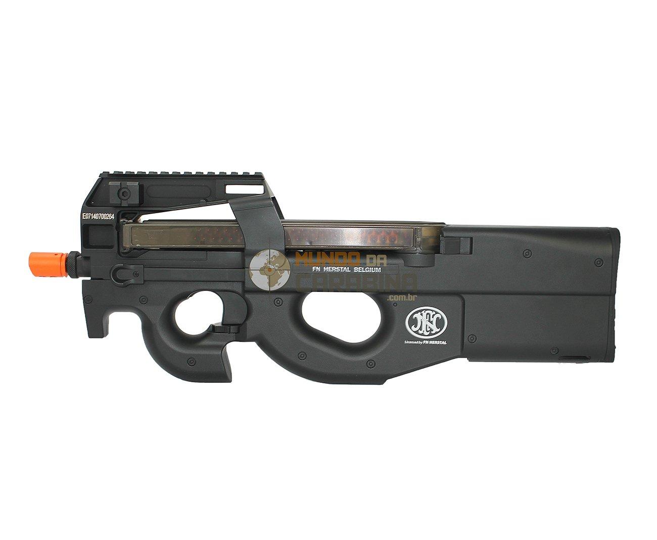 Rifle De Airsoft Fn P90 - Calibre 6,0 Mm - Bivolt -fn Herstal - Bivolt