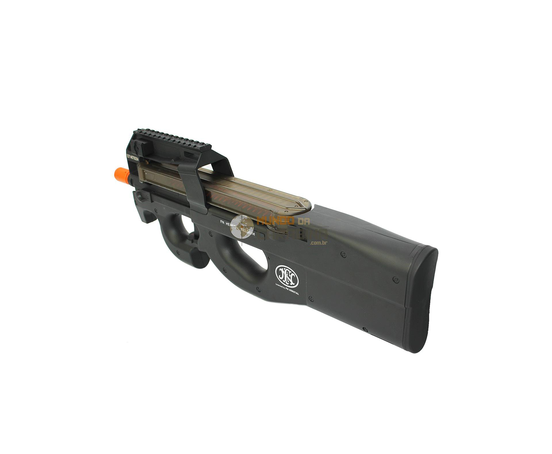 Rifle De Airsoft Fn P90 - Calibre 6,0 Mm - Bivolt -fn Herstal - Bivolt
