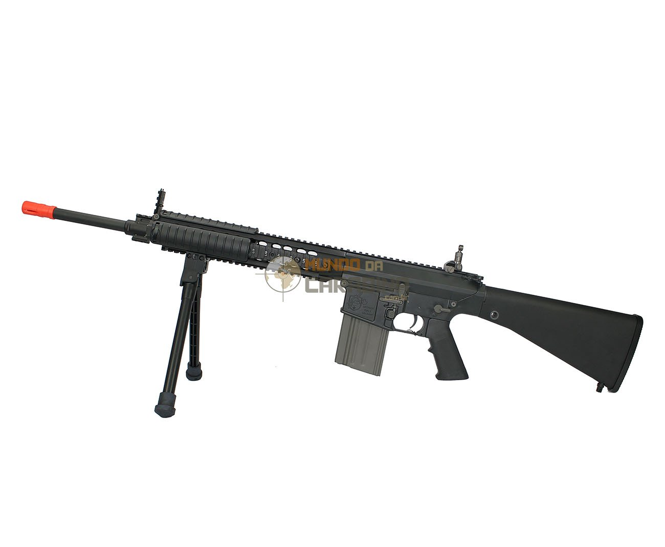 Rifle De Airsoft M110 Semi-auto Sniper System (sass) Full Metal - Ares