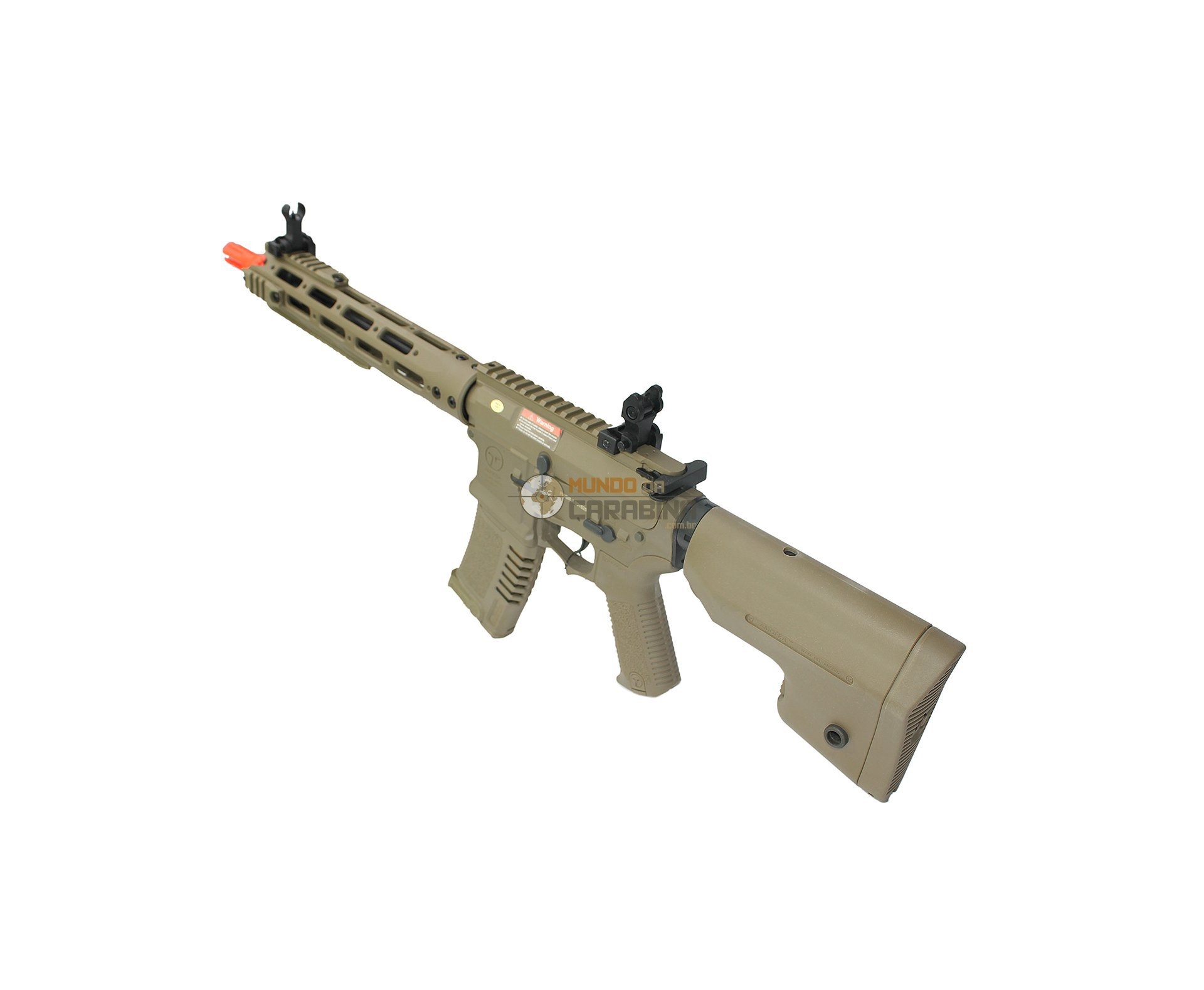 Rifle De Airsoft M4 Ris Long Amoeba Am-009-de - Cal 6.0mm - Ares