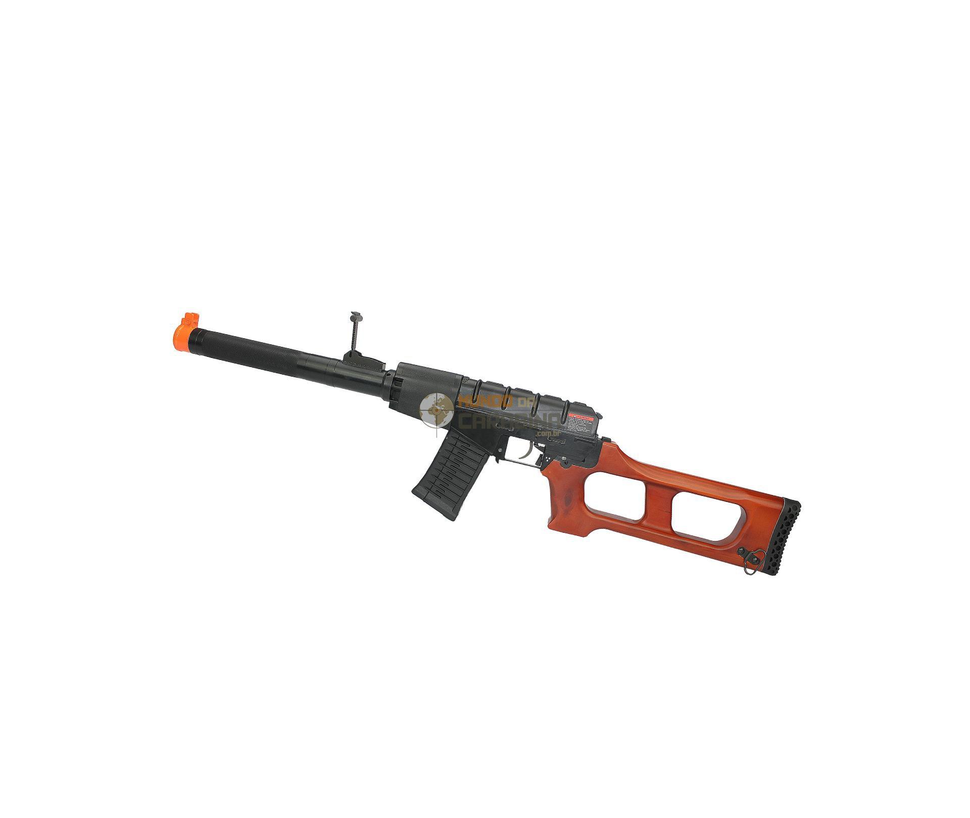 Rifle De Airsoft 6mm Gss Sniper Vintorez Full Metal - Bivolt - G&g