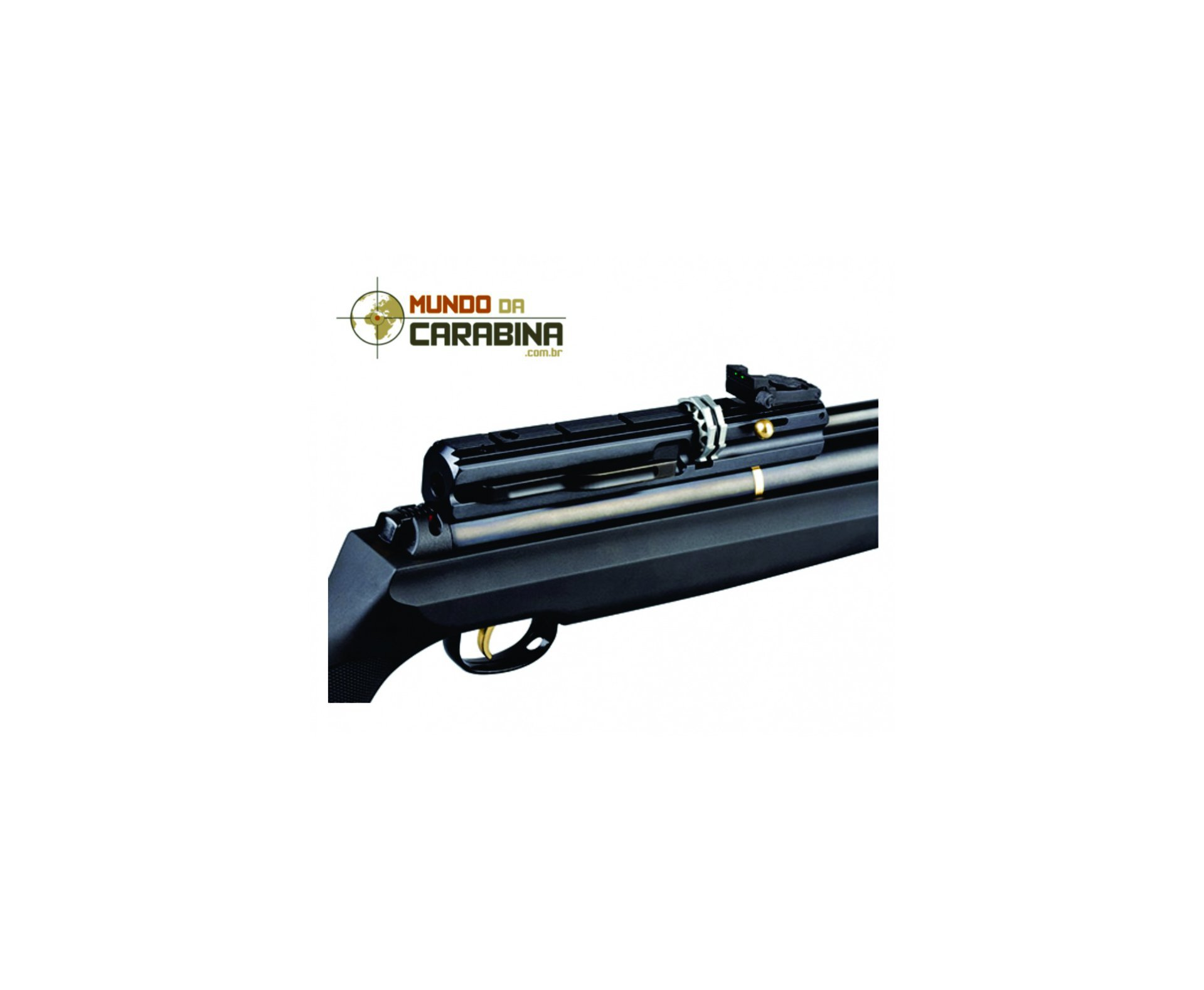 Carabina Pcp Hatsan At44-10- Calibre 5,5 Mm + Capa + Bomba Pneumática Hatsan