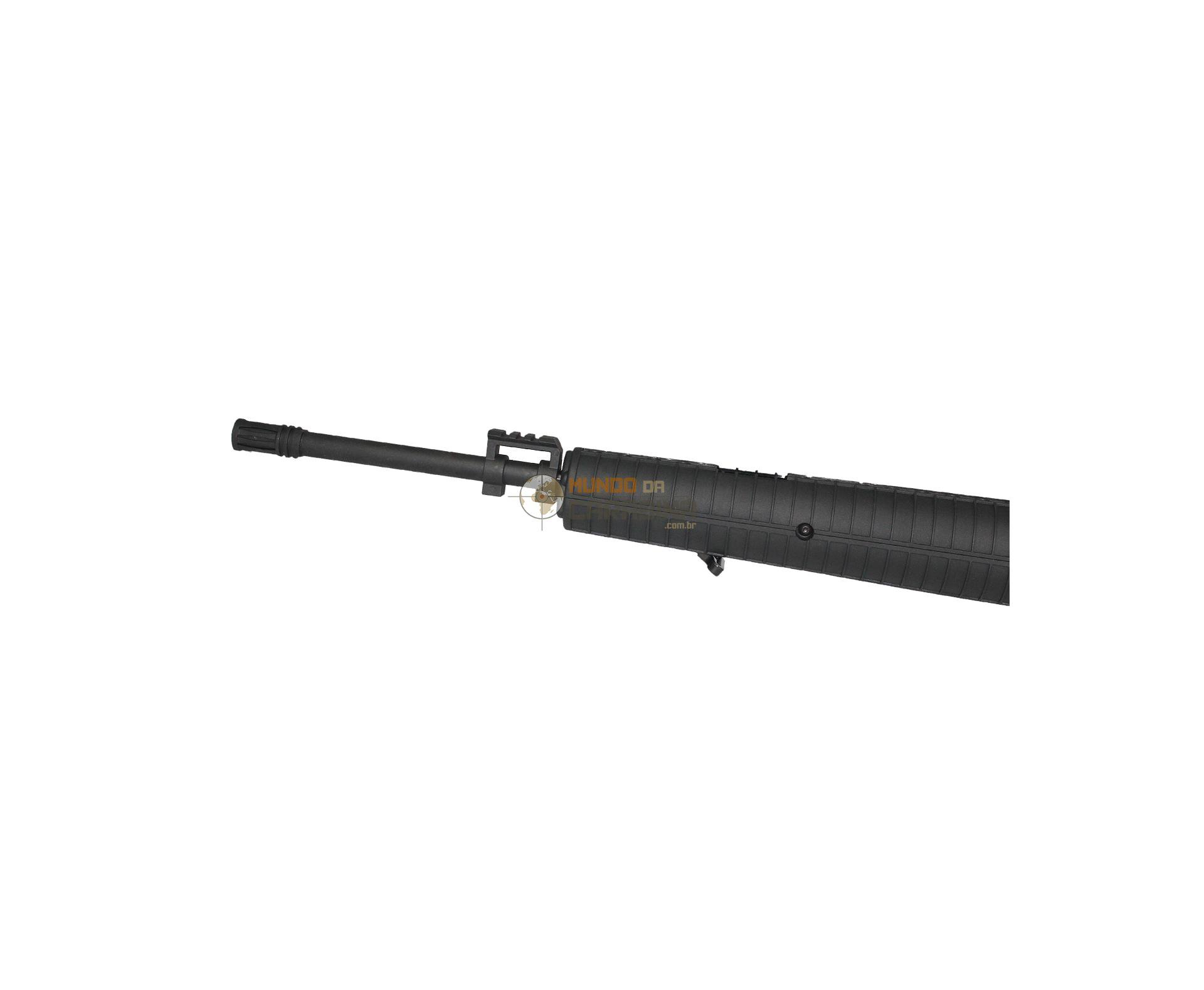 Carabina De Pressão Mtr77np Gas Ram Tatical Cal 4,5mm - Crosman + Luneta Center Point 4x32