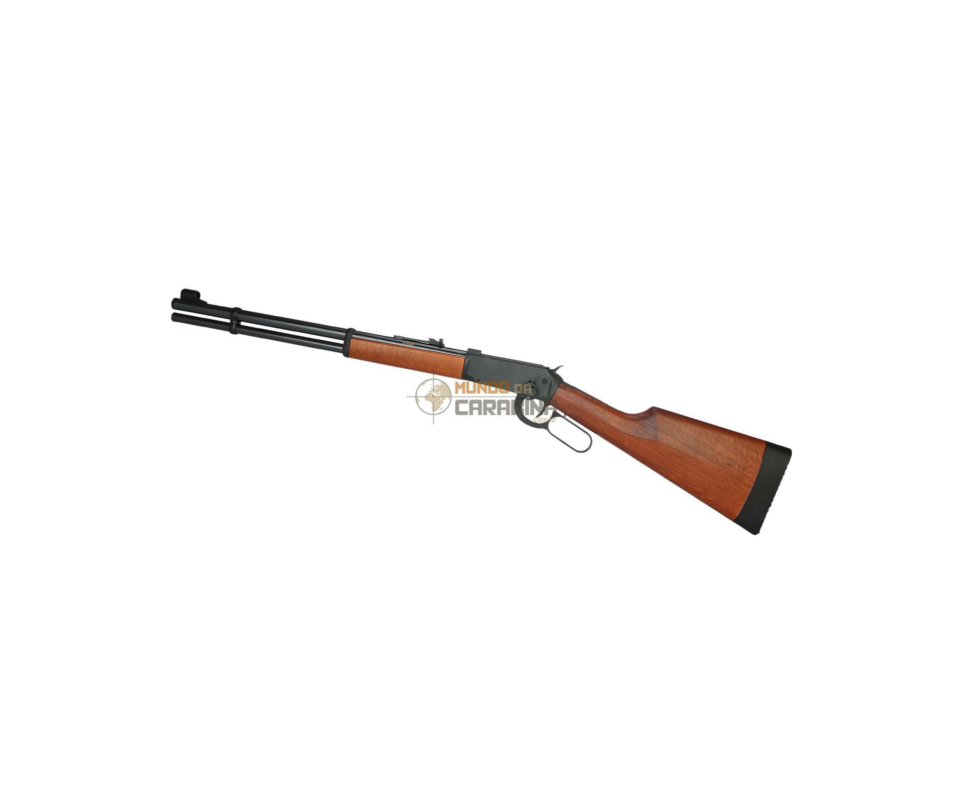 Carabina De Pressão Pcp Puma Walther Lever Action Oxidada 4,5mm 8 Tiros + Capa - Walther