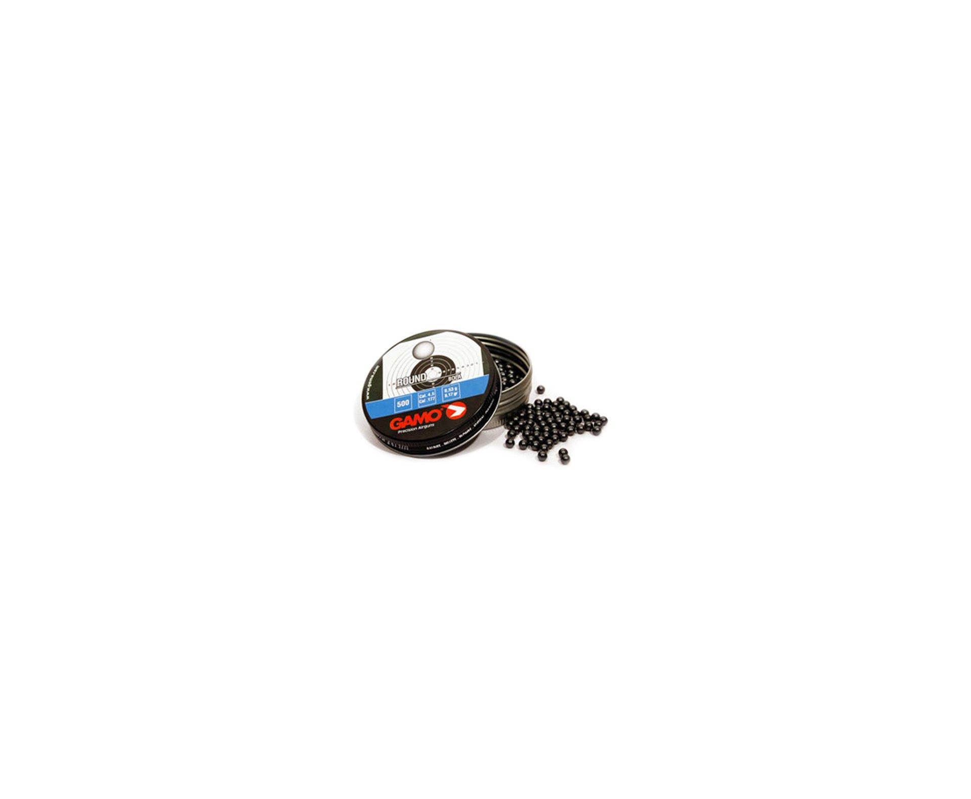 Chumbinho Round - Calibre 4,5 Mm - 250 Unidades - Gamo