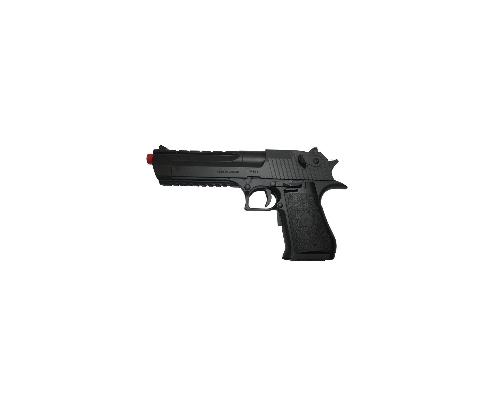 Pistola De Airsoft Desert Eagle Blow Back - Calibre 6,0 Mm - Src Ge-0402