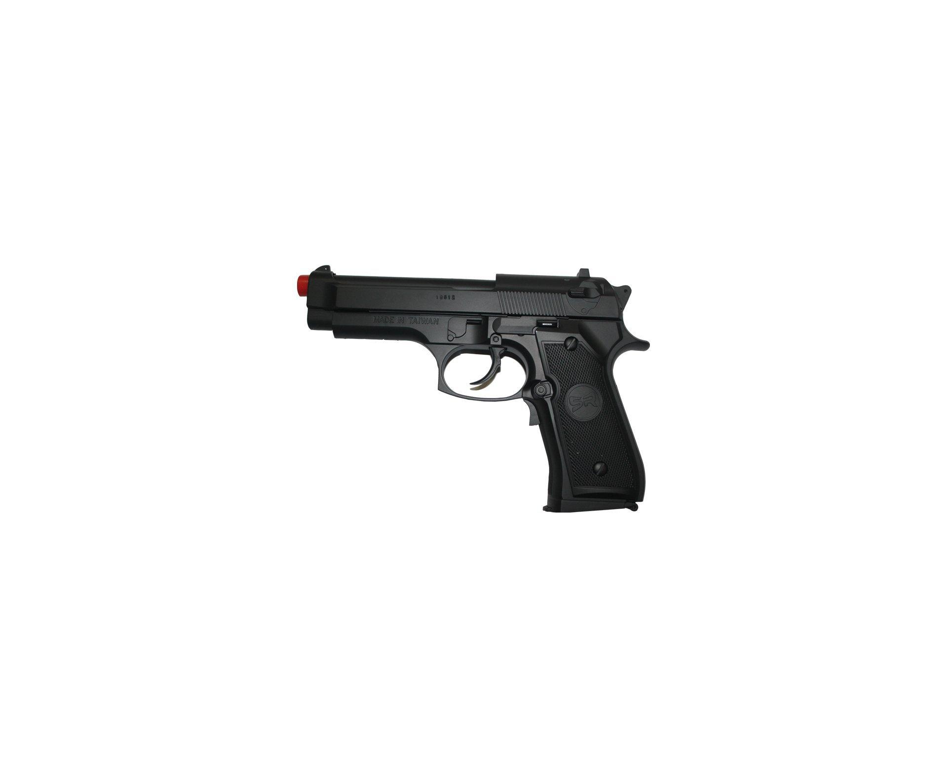 Pistola De Airsoft Pt92  Blow Back- Calibre 6,0 Mm - Src Gn 0401