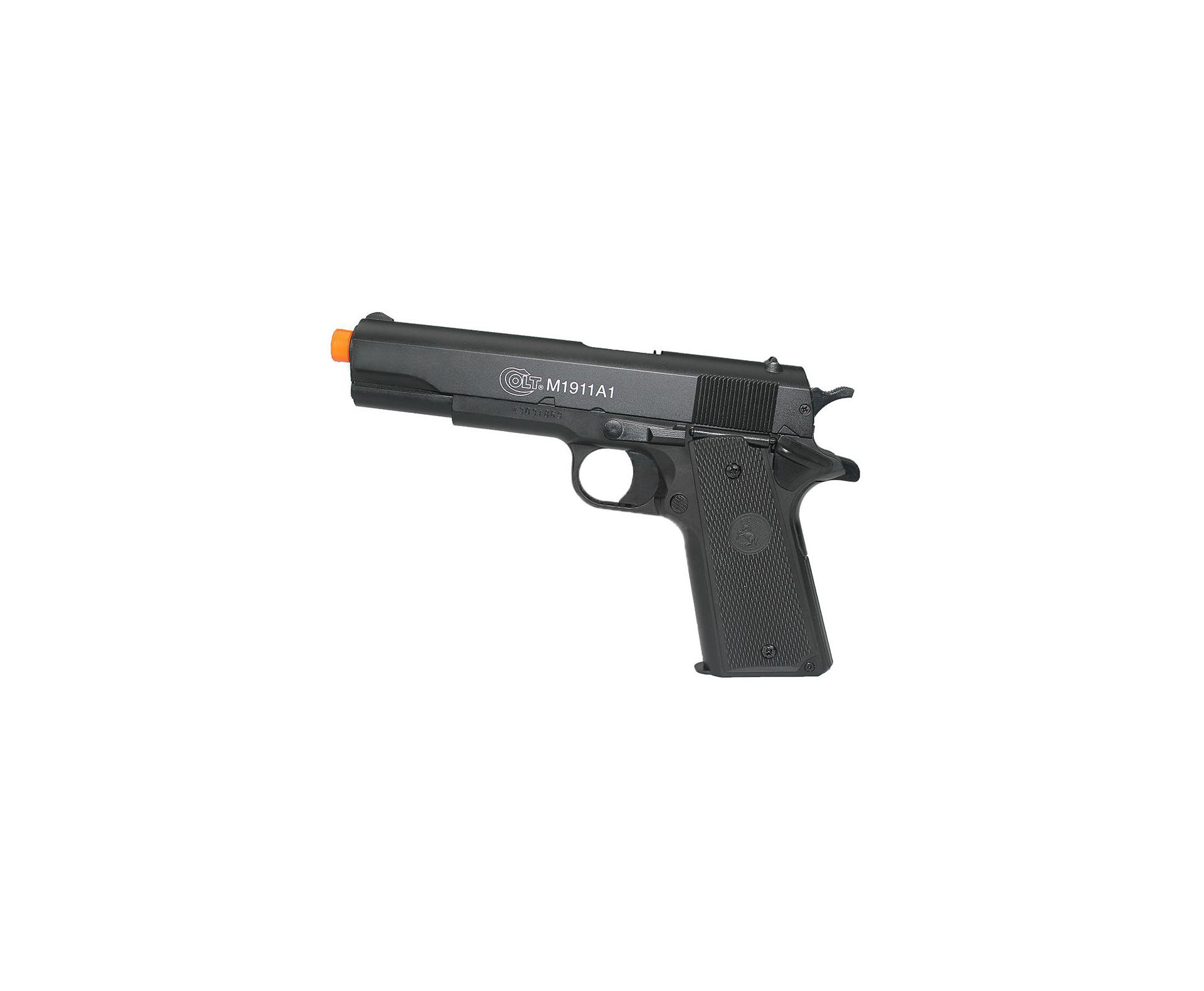 Pistola De Airsoft Colt 1911 A1 Semi Metal Calibre 6,0 Mm - Colt Cybergun