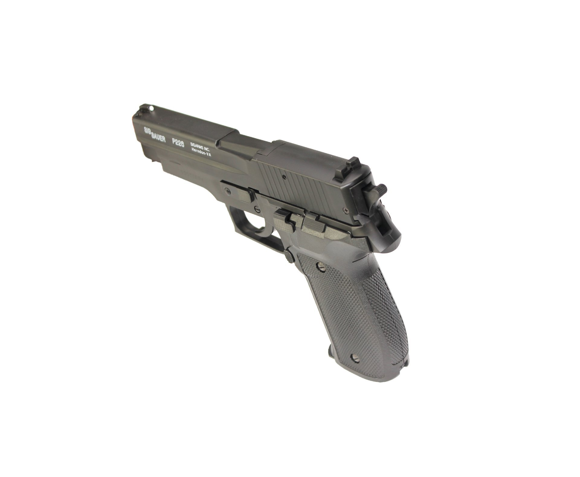 Pistola De Airsoft P226 Sig Sauer Slide Metal - Calibre 6,0 Mm - Cybergun