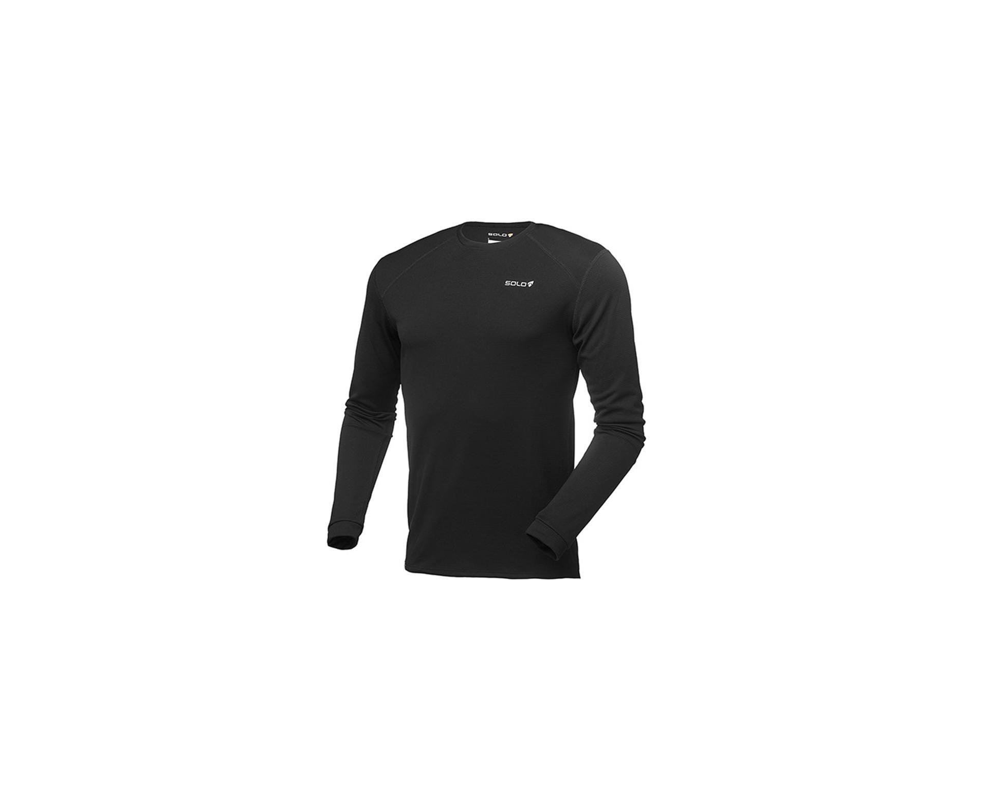 Blusa X-thermo Air Ts - Preto - Solo
