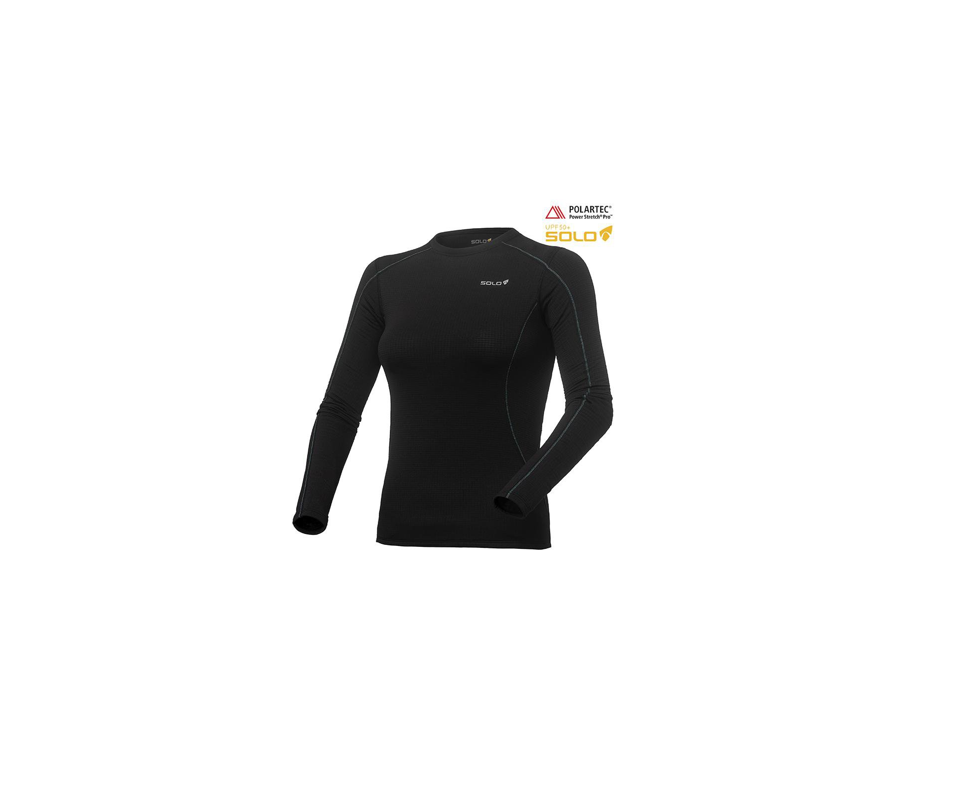 Blusa X-thermo Air Ts Lady - Preto - Solo