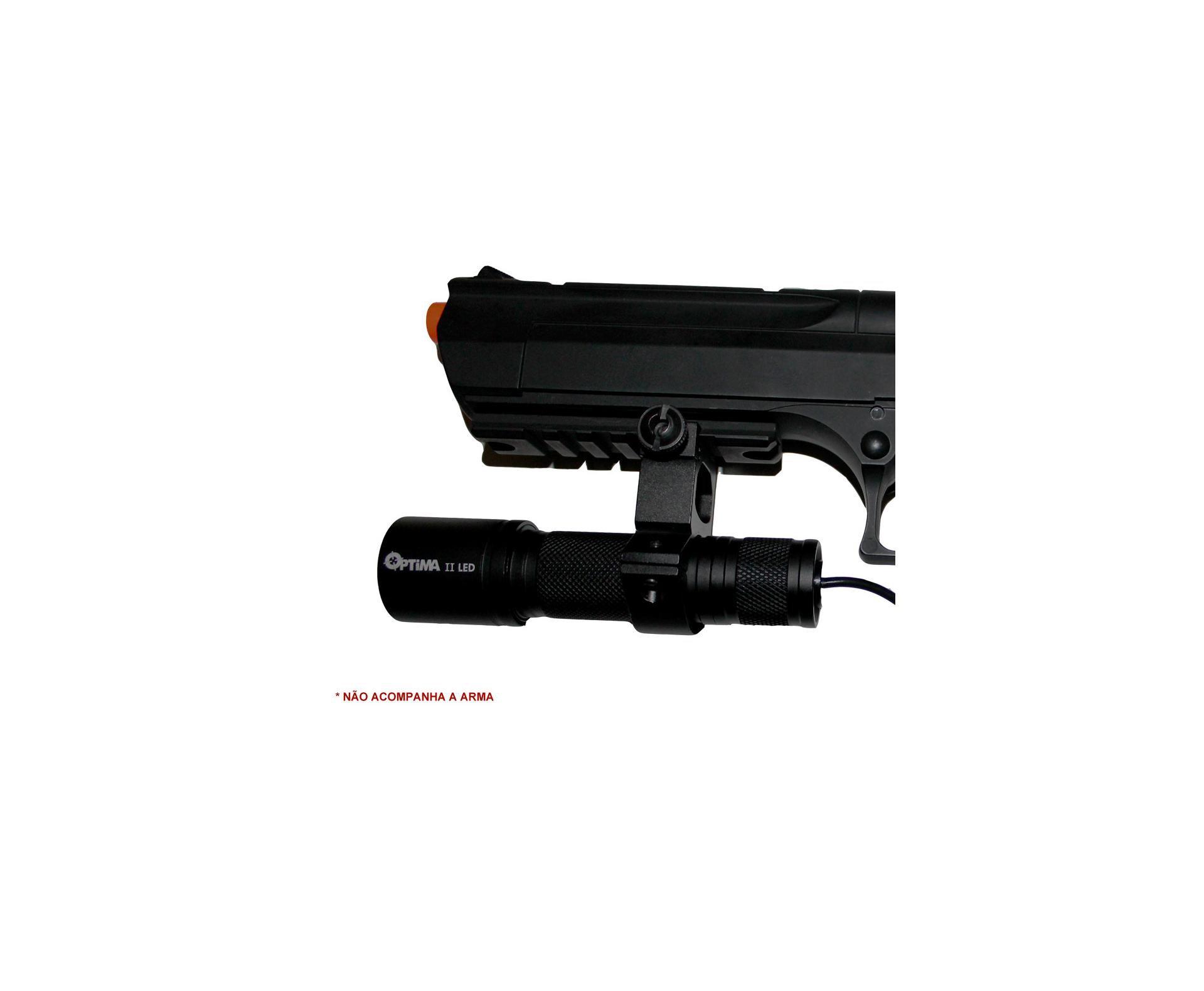 Lanterna Tática Para Carabinas E Pistolas De Pressão - Led