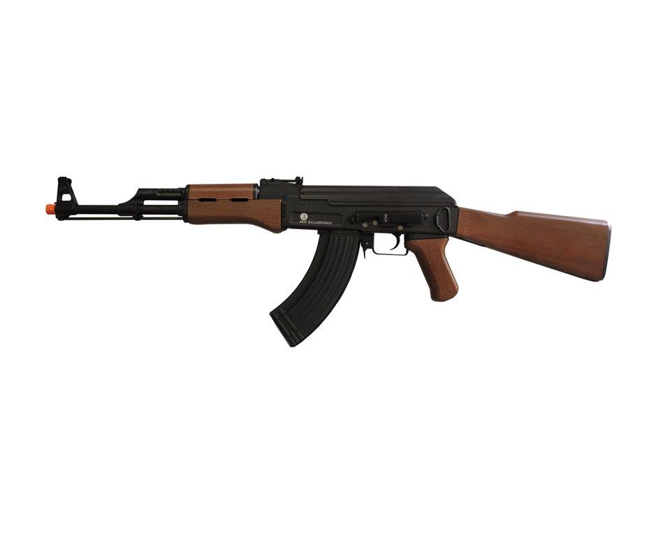 Rifle De Airsoft Kalashnikov Ak47 - Full Metal Blowback - 6,0 Mm - G&g