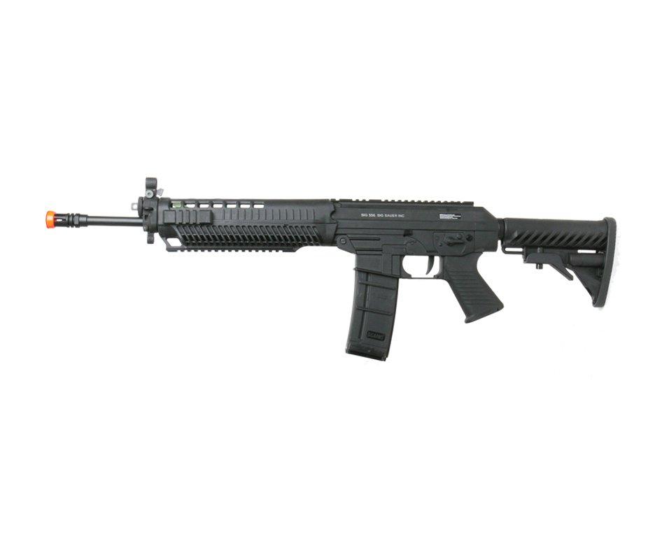 Rifle De Airsoft Sig Sauer 556 - Full Metal - Calibre 6,0 Mm - Cybergun