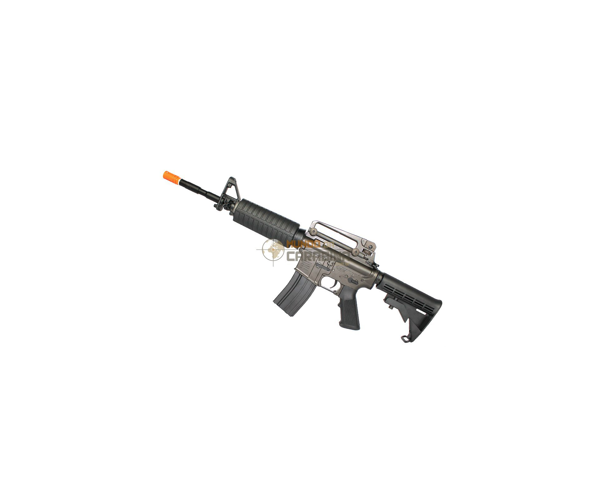 Rifle De Airsoft Colt M4a1 - Full Metal - Calibre 6,0 Mm - King Arms