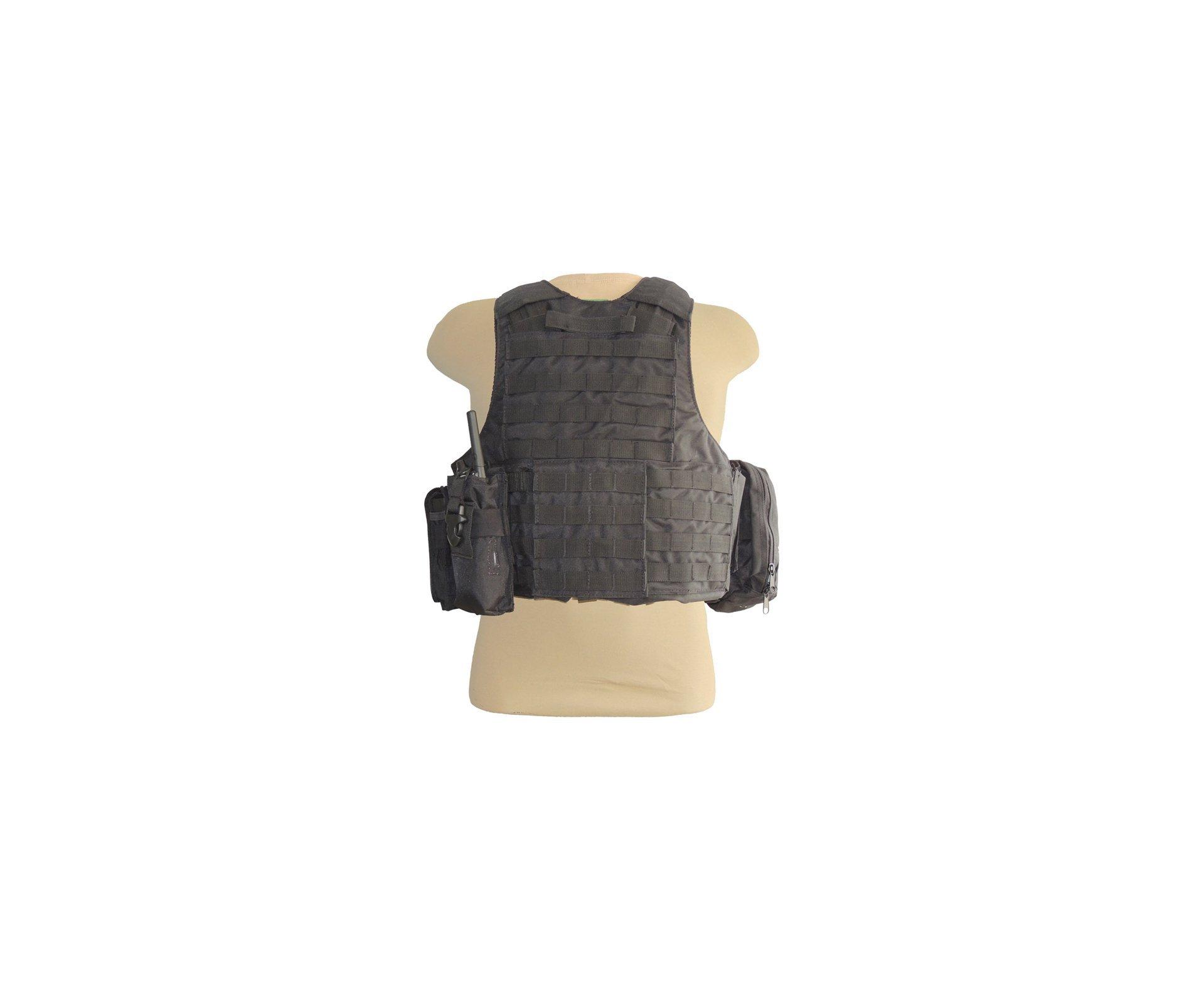 Colete De Proteção Ciras - Preto - Swiss+ Arms