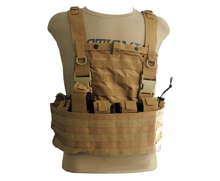 Colete De Proteção Chest Molle Desert/tan - Swiss+ Arms - Tan