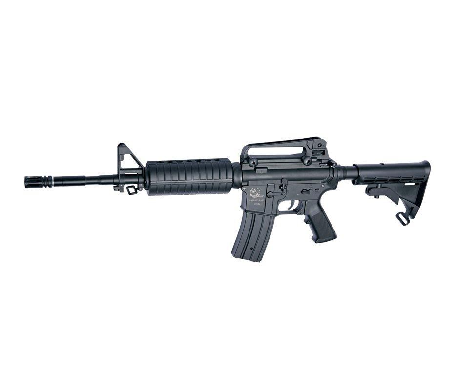 Rifle De Airsoft M15a4 - Semi Metal - Calibre 6,0 Mm - Asg