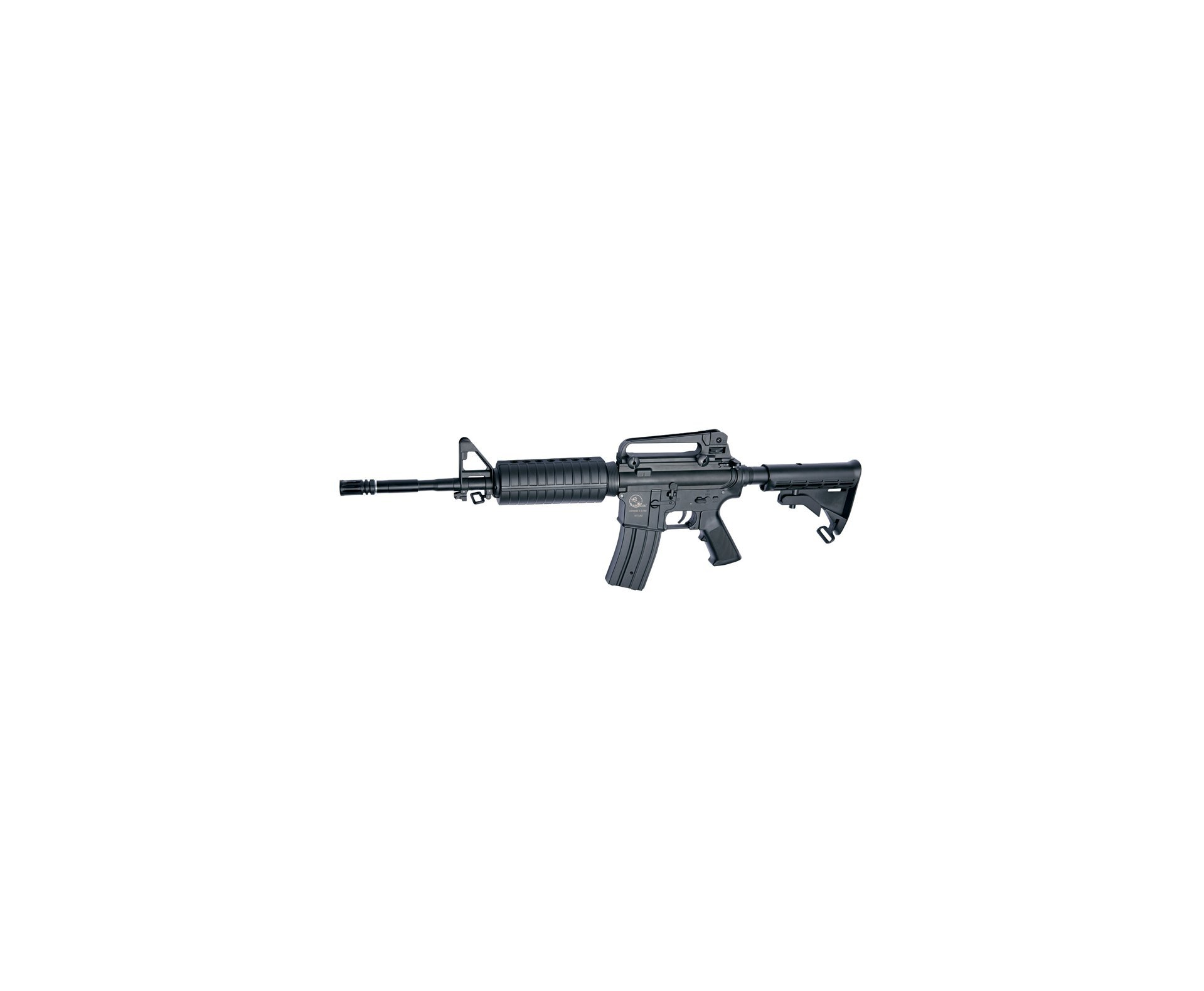 Rifle De Airsoft M15a4 - Semi Metal - Calibre 6,0 Mm - Asg