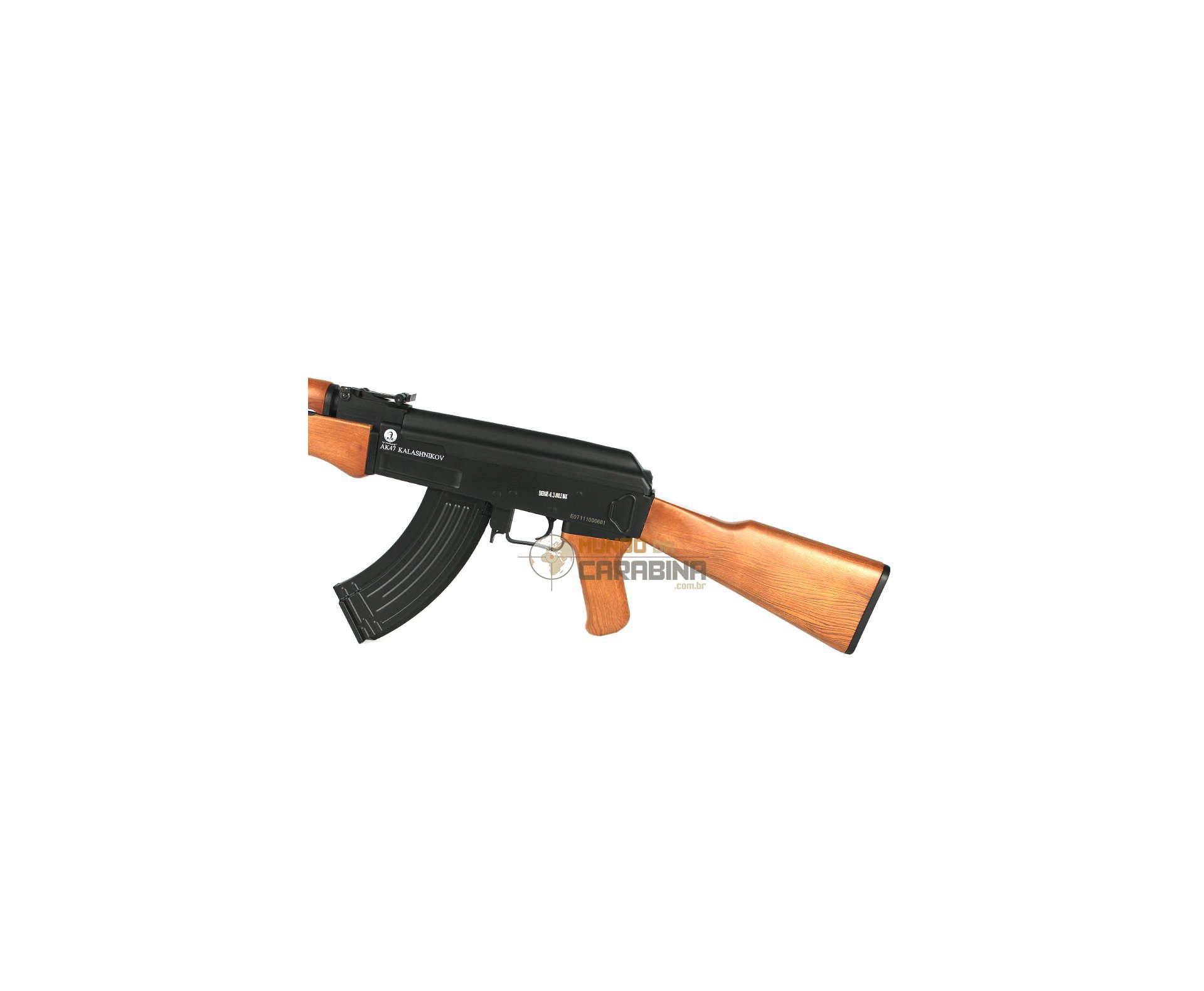 Rifle De Airsoft Ak47 Toy - Calibre 6,0 Mm - Kalashnikov (cyber Gun)