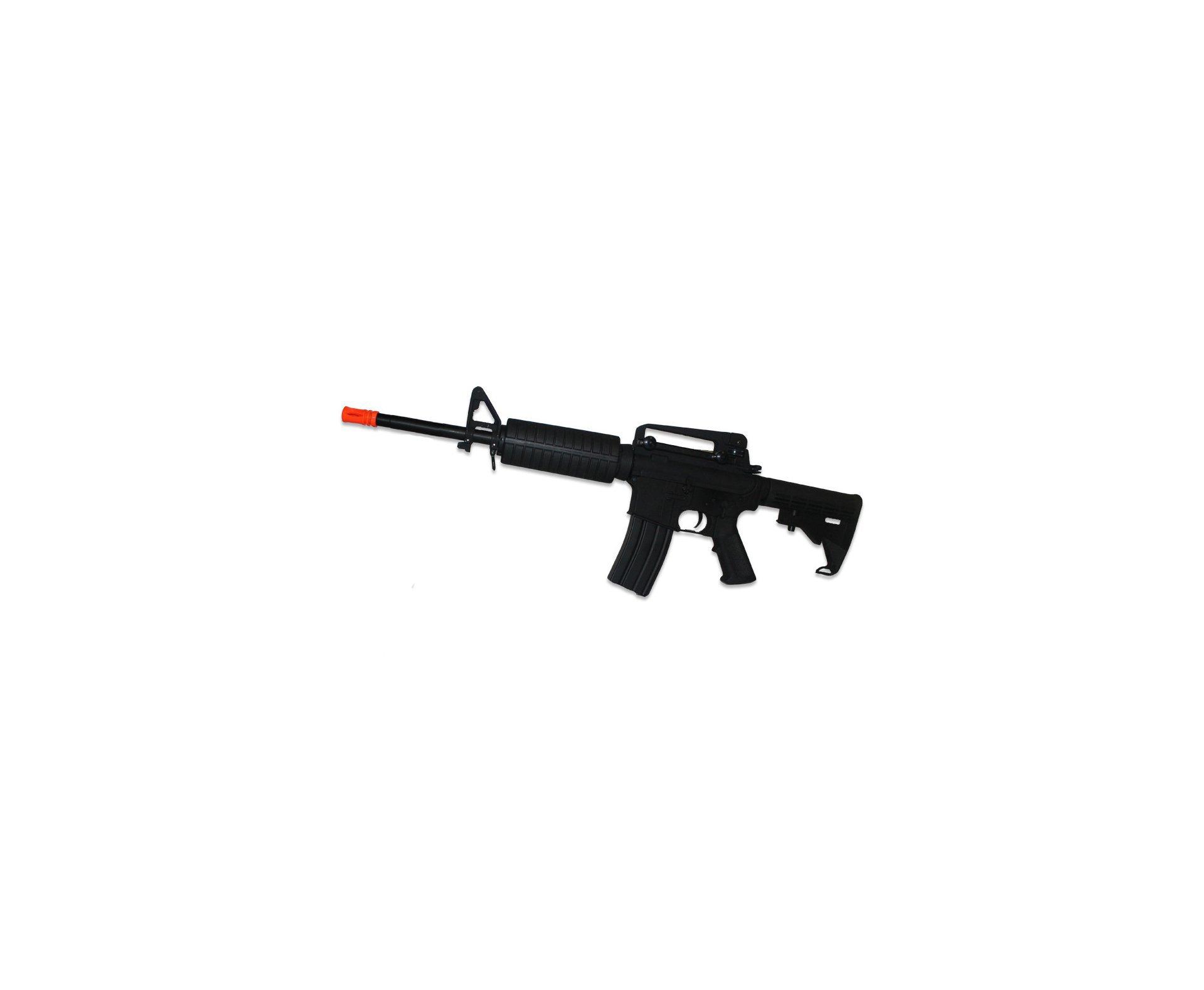 Rifle De Airsoft M4a1 - Full Metal - Cal. 6,0 Mm - Cyma + óculos Swiss Arms Tactical +  4000 Esferas Bb King
