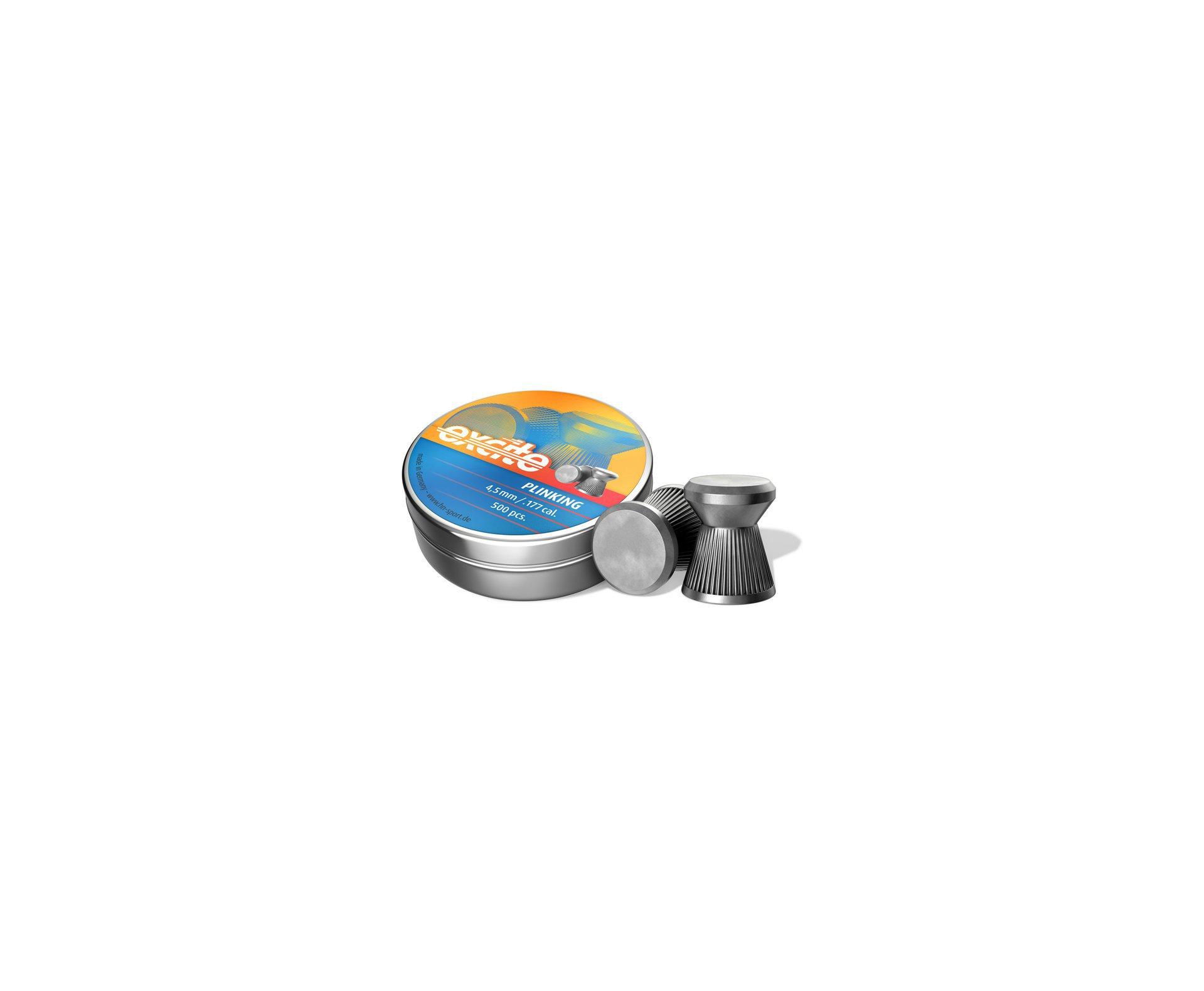 Chumbinho Profissional H&N Excite Plinking 4,5mm C/ 500und