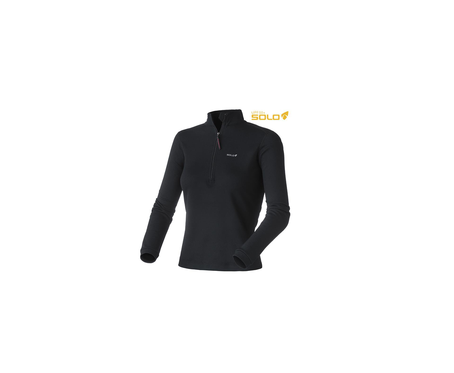 Blusa X-thermo Ds Zip Lady - Preto - Solo