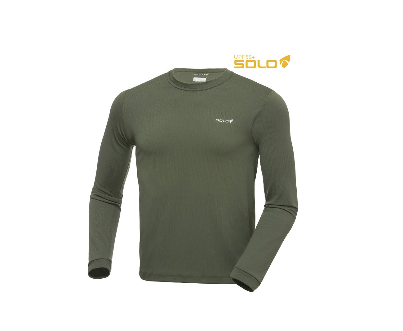 Blusa X-thermo Ds T-shirt Verde Oliva - Solo