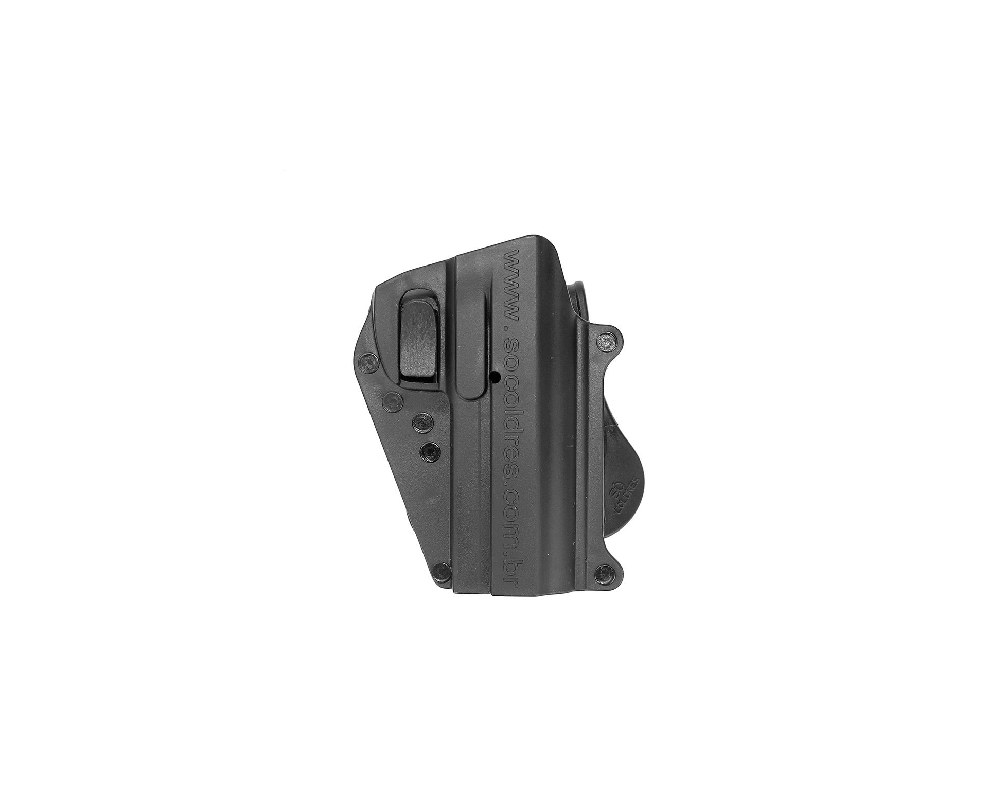 Coldre Cintura Para Pistola Imbel M1d 1,2,5 E Pt100 Destro So Coldres