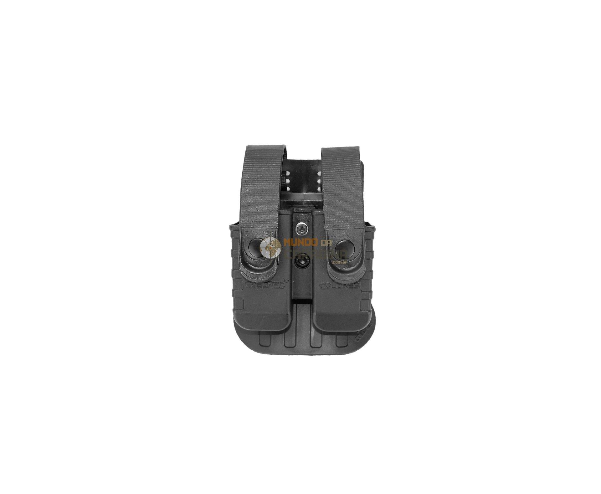 Porta Carregador Duplo Pistola Taurus, Imbel E Glock .40 - So Coldres