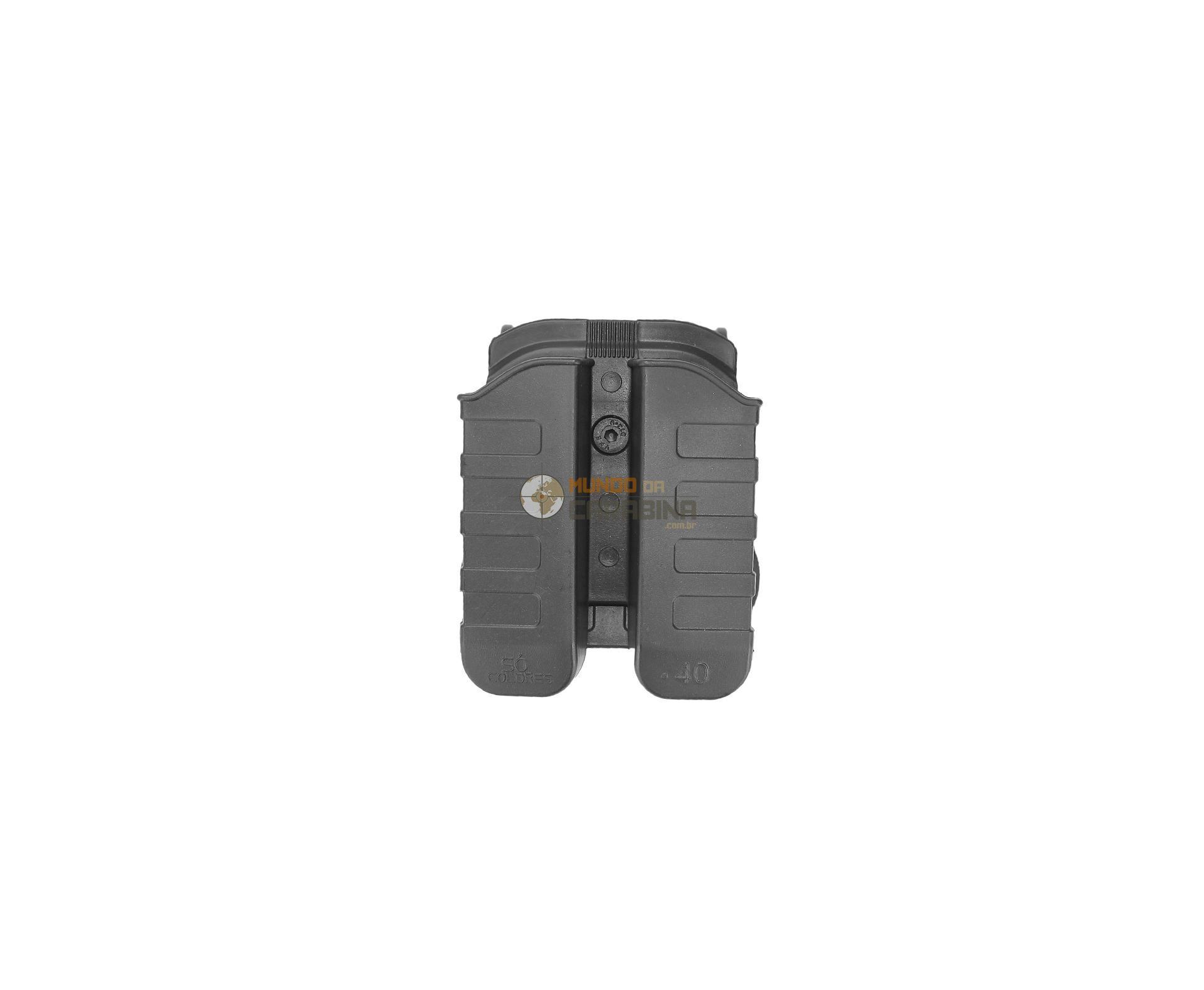 Porta Carregador Duplo Pistola Taurus .40 E 9mm - So Coldres