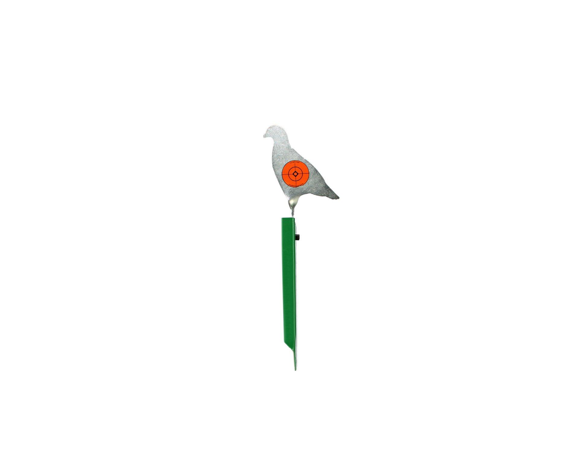 Alvo Plinking 1 Pêndulo Pombo De Fixar No Solo - Full Metal