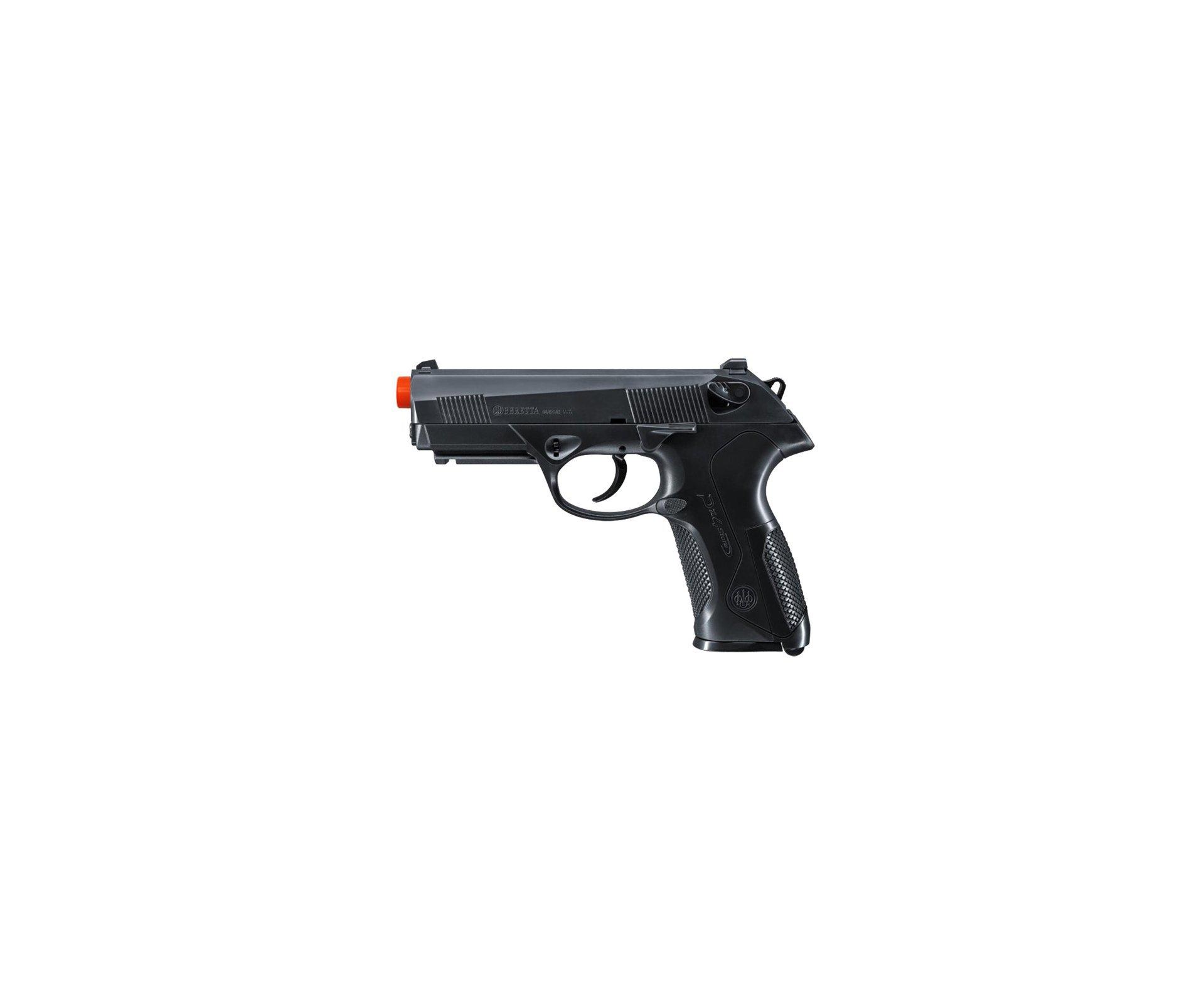 Pistola De Airsoft Beretta Px4 Storm Abs Cal 6,0 Mm + 4000 Esferas 0,12g + Case Deluxe - Umarex