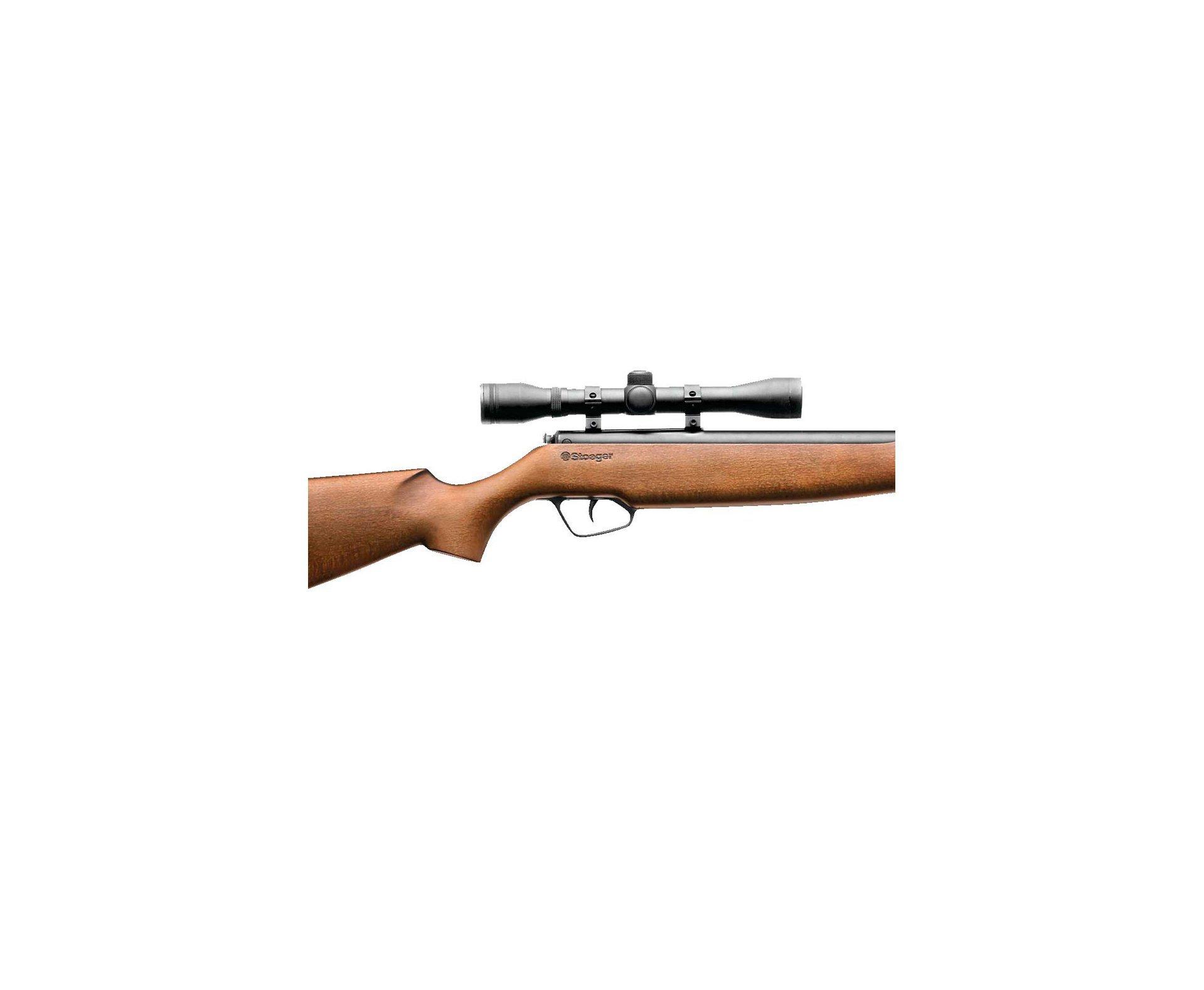 Carabina De Pressão X10  - Madeira - Calibre 5,5 Mm + Luneta 4x32 - Stoeger Airguns/bereta