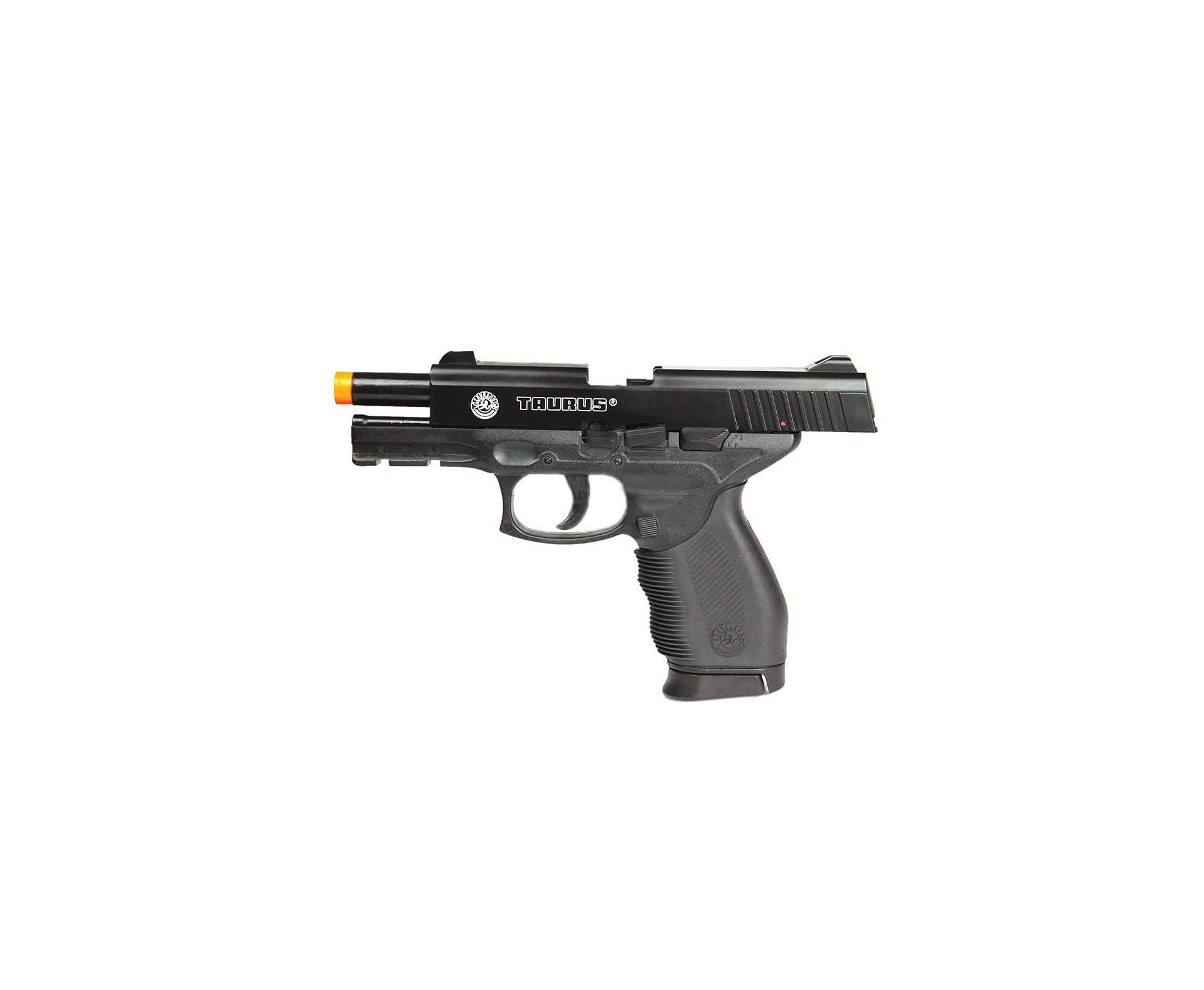 Pistola De Airsoft Taurus Pt 24/7 Semi/metal Cal 6,0 Mm - Cybergun