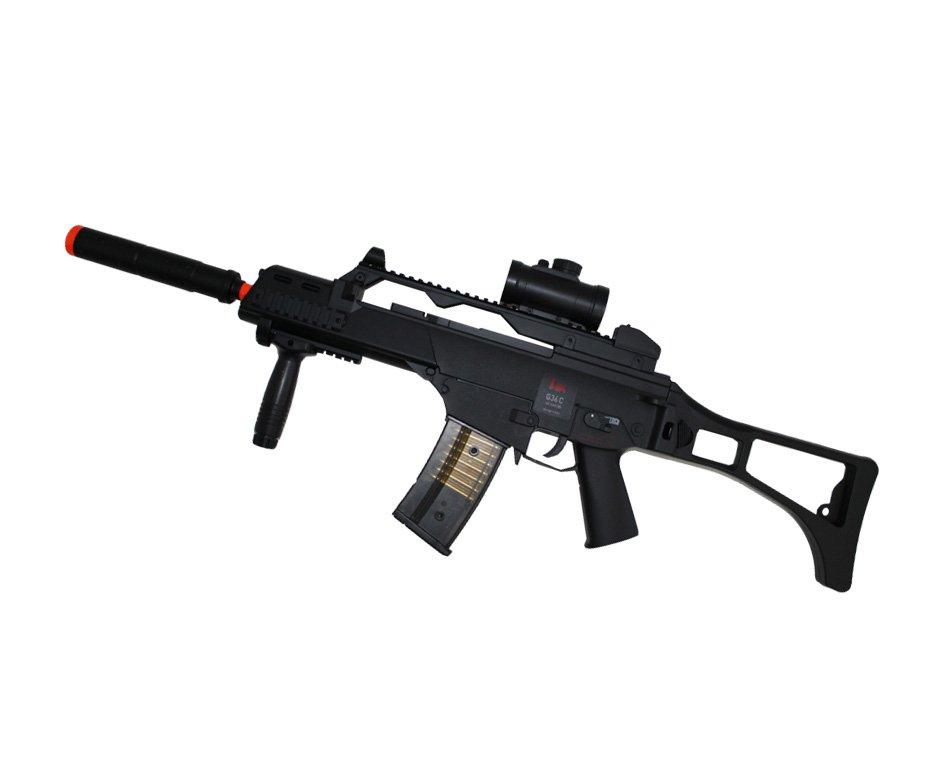 Rifle De Airsoft G36c - Calibre 6,0 Mm Elétrico  110/220v Bivolt - Heckler & Koch