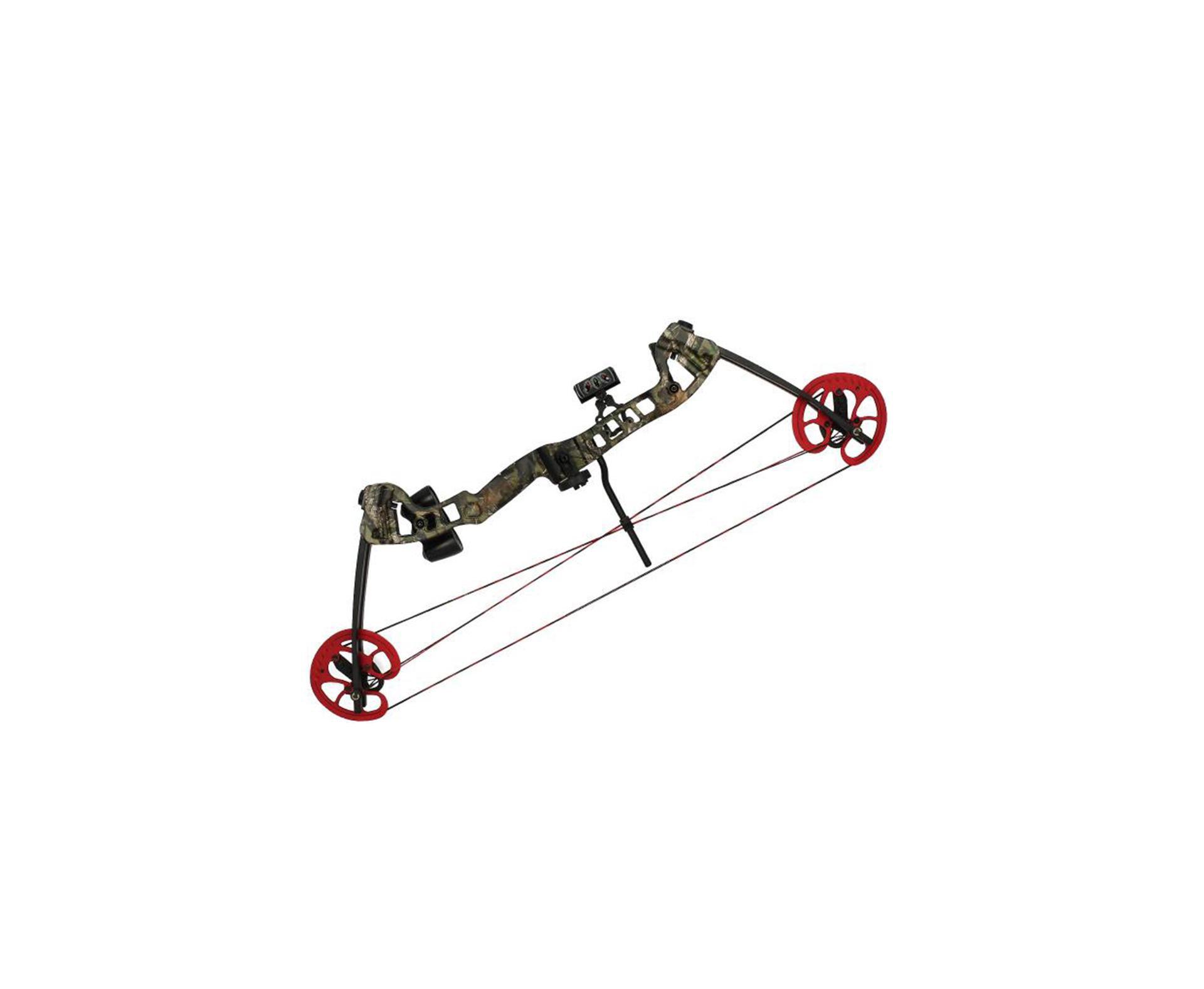 Arco Composto Vortex Hunter 45 - 60 Lbs Destro - Camuflado - Barnett