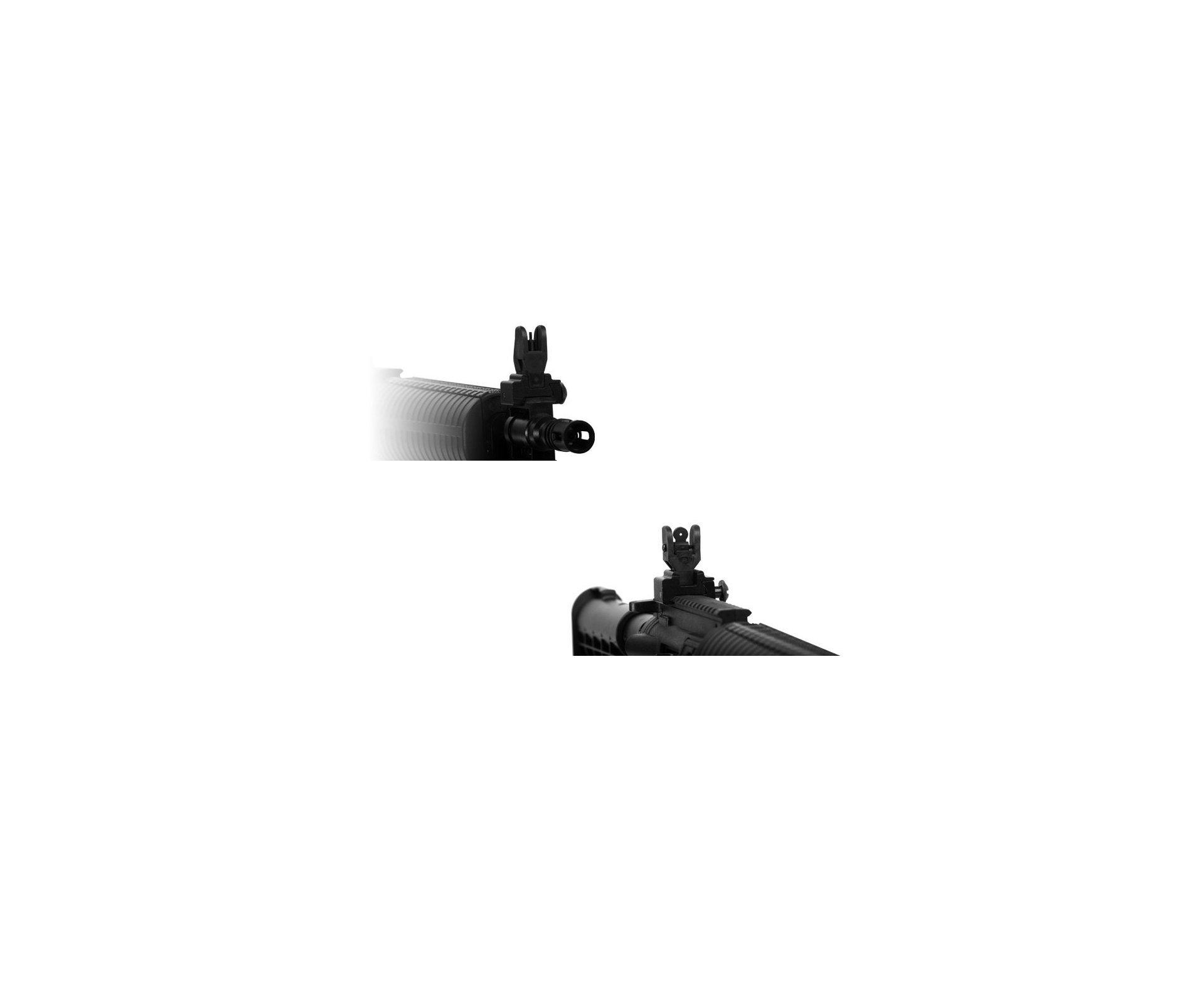Carabina De Ar Crosman M4-177 Multi Pump - 4,5 Mm + 1500 Esferas Metalicas