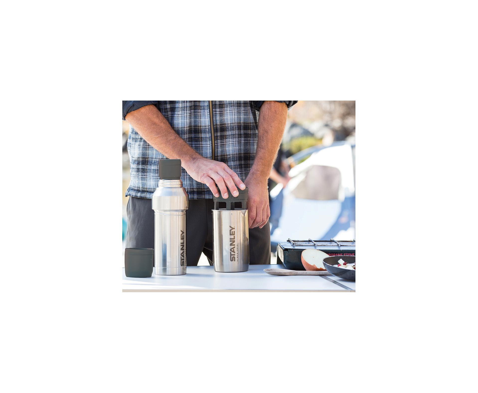 Garrafa Térmica Stanley Inox Preparador De Café 500ml