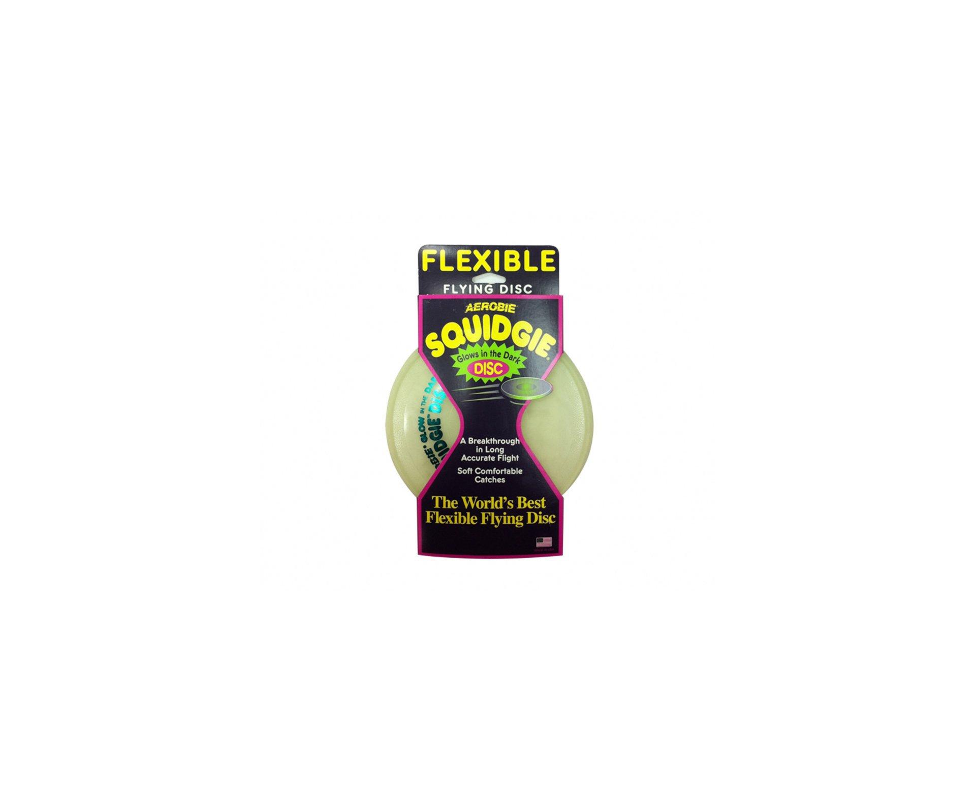 Disco Frisbee Squidgie Glow - Brilha No Escuro - Aerobie