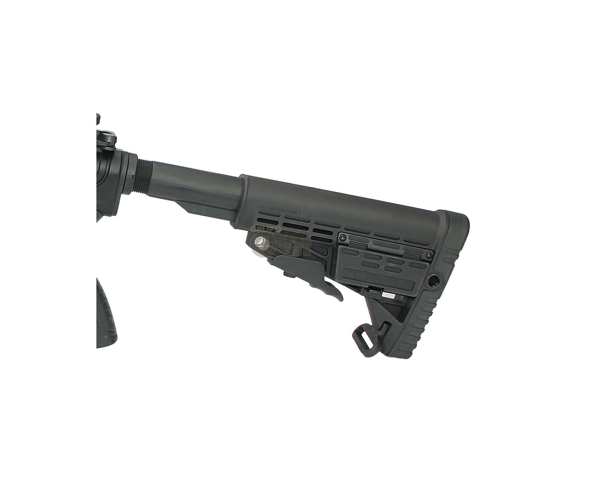 Rifle De Airsoft M4 Caa Cqb Custom Cal 6mm Bivolt - King Arms