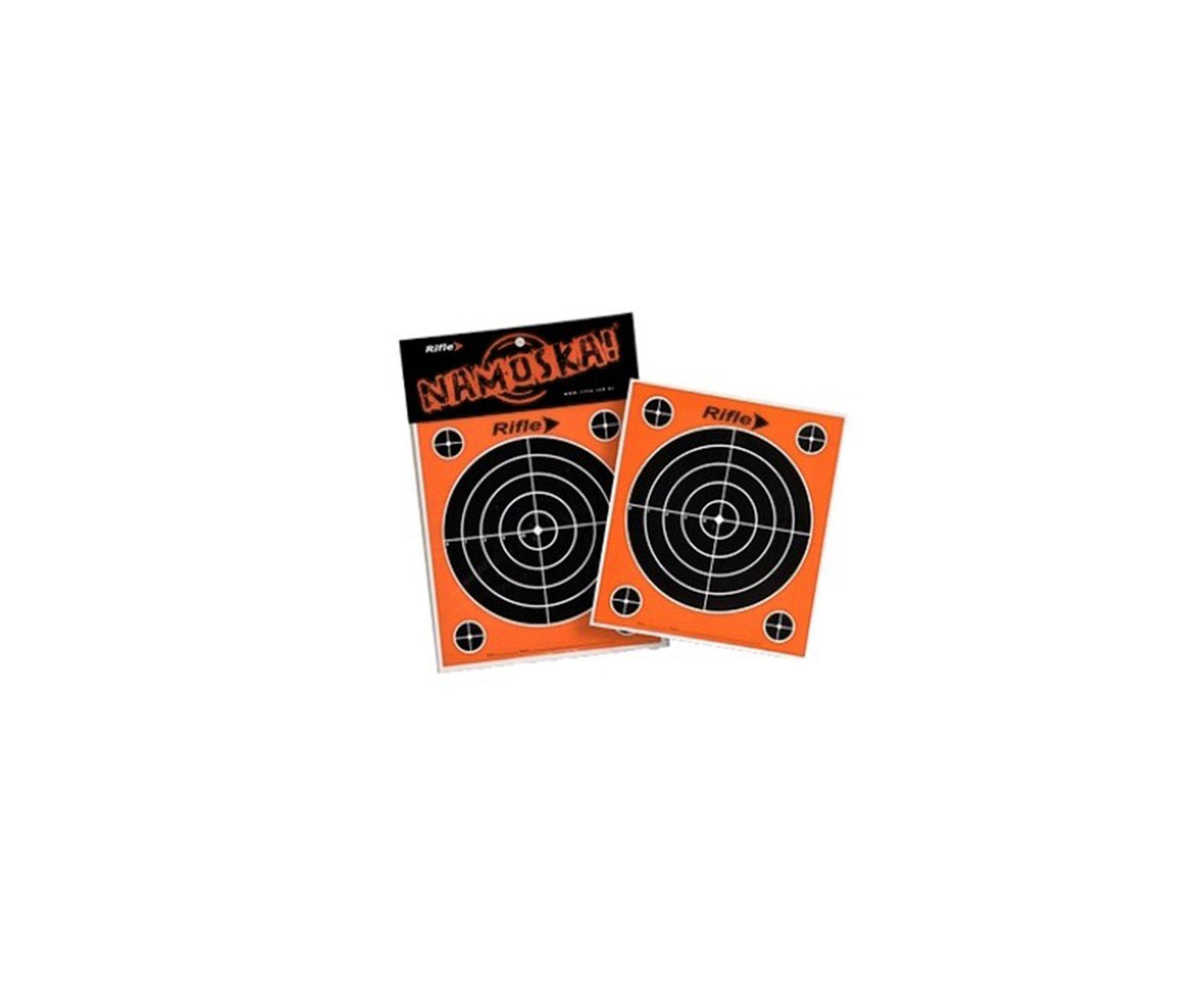 Alvos Descartáveis Para Carabinas E Pistolas 150x170mm 10und - Rifle
