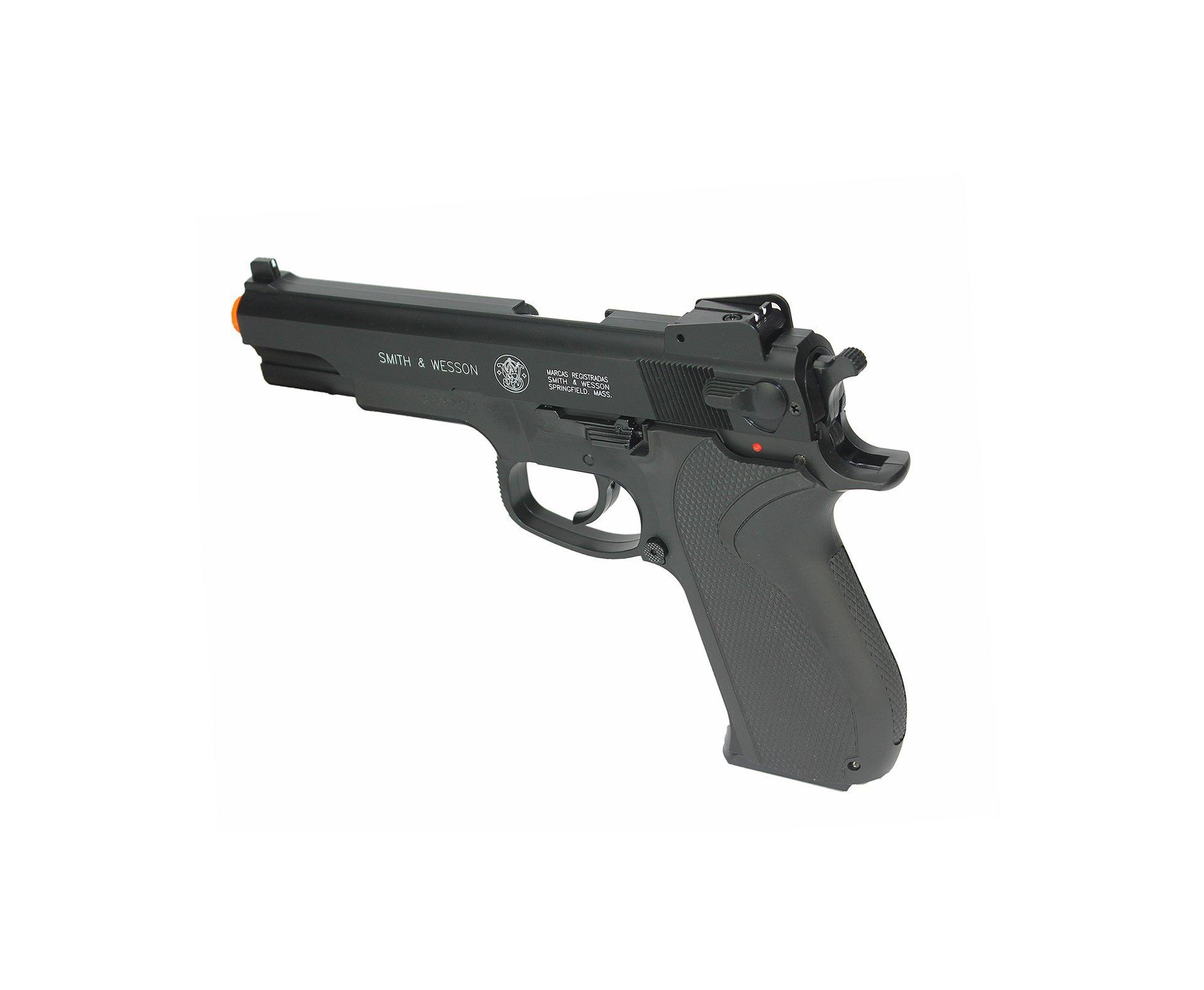 Pistola De Airsoft Smith & Wesson M4505 Slide Metal - Calibre 6,0 Mm - Smith & Wesson