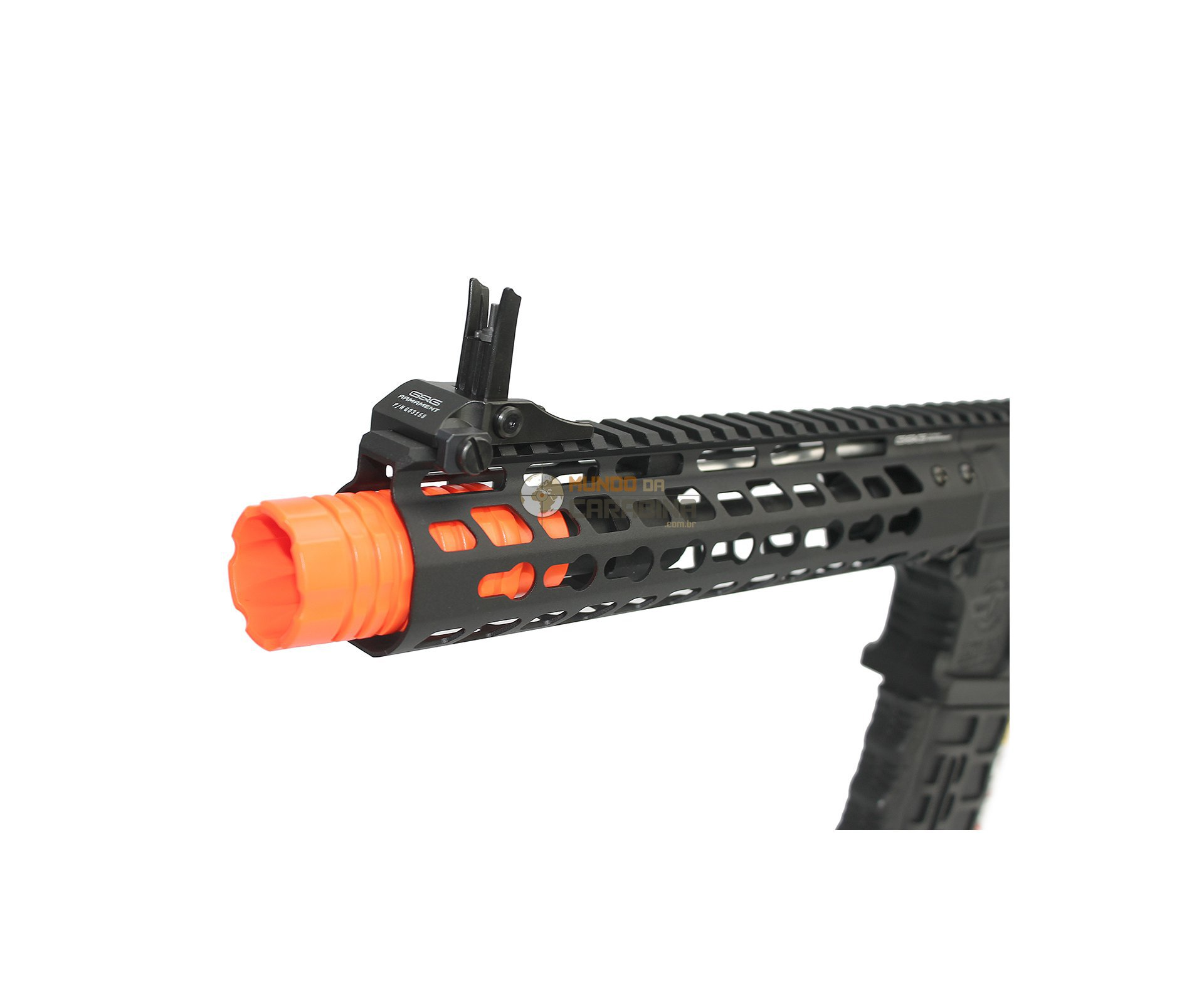 "Rifle De Airsoft Cm16 Wild Hog 9"" Elet Mosfet- Cal 6mm - G&g"