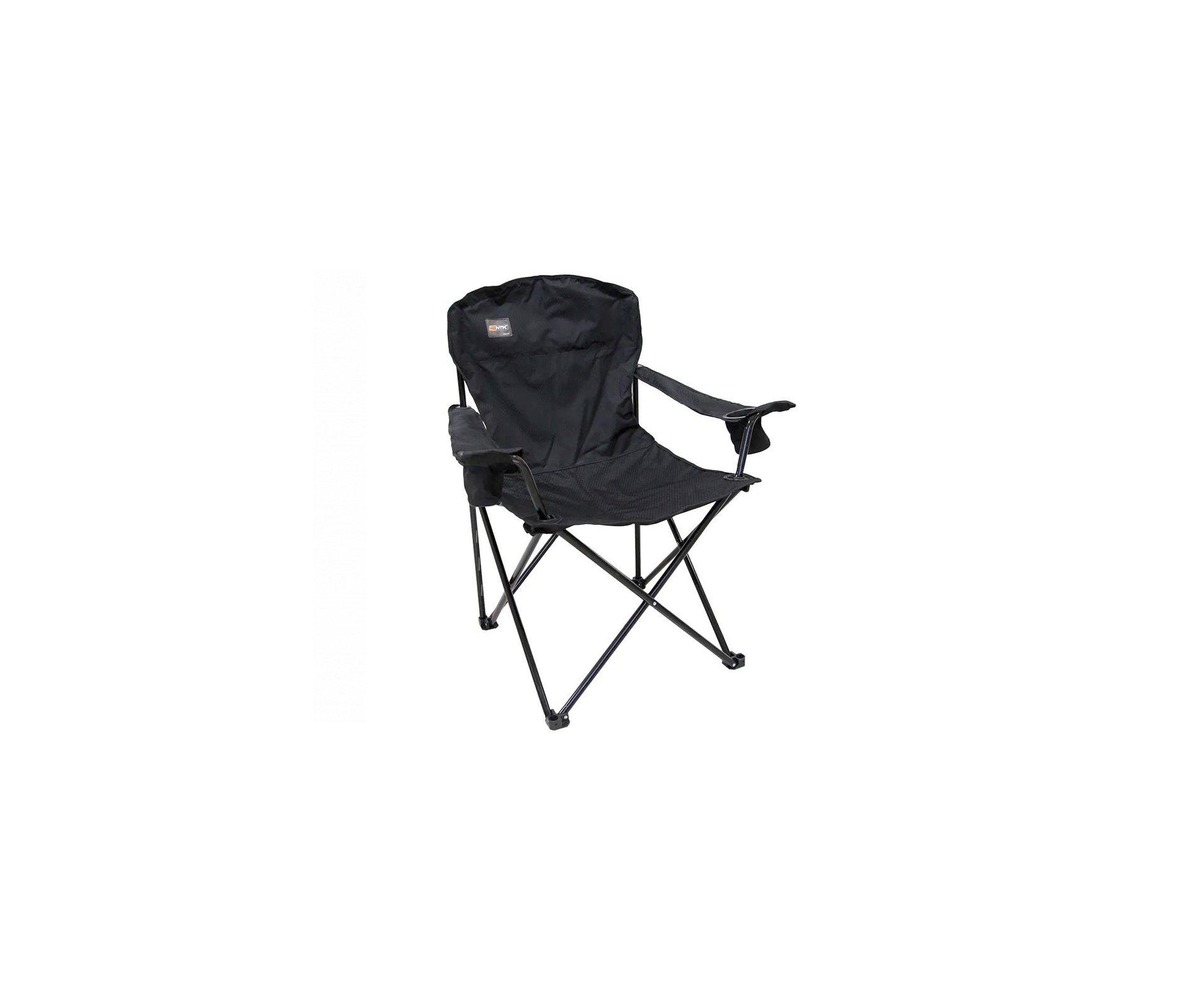 Cadeira Pandera Dobrável Preta - Nautika